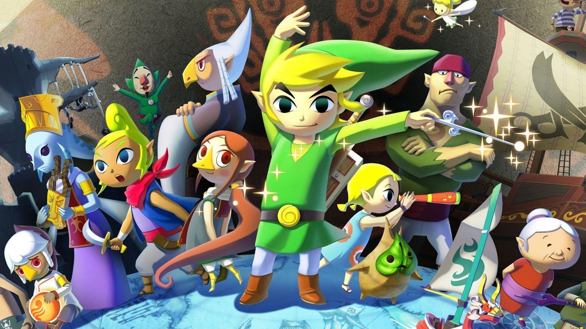 The Legend Of Zelda Wind Waker Background HD Wallpaper Desktop .