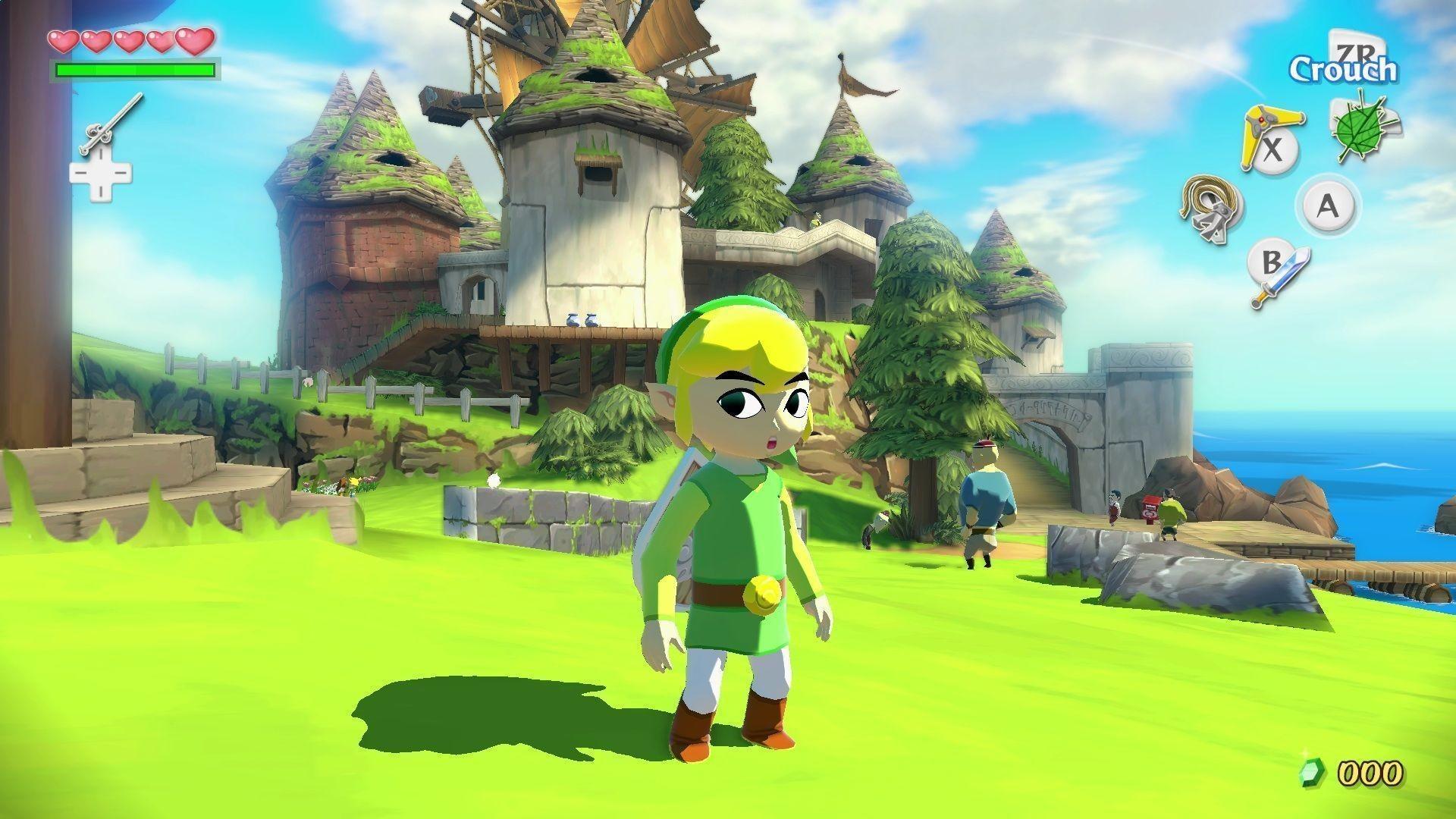 10 The Legend Of Zelda: The Wind Waker Hd HD Wallpapers .