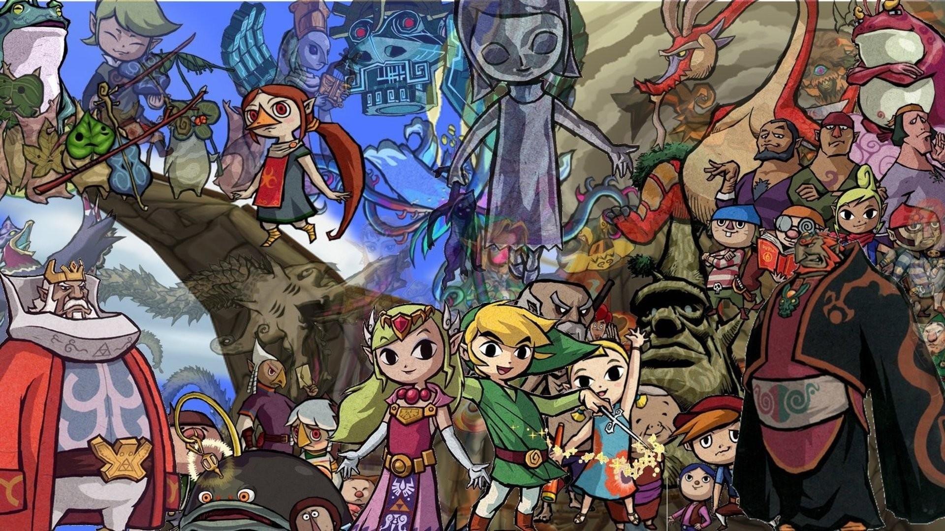 LEGEND ZELDA WINDWAKER action adventure family nintendo wallpaper      408928   WallpaperUP