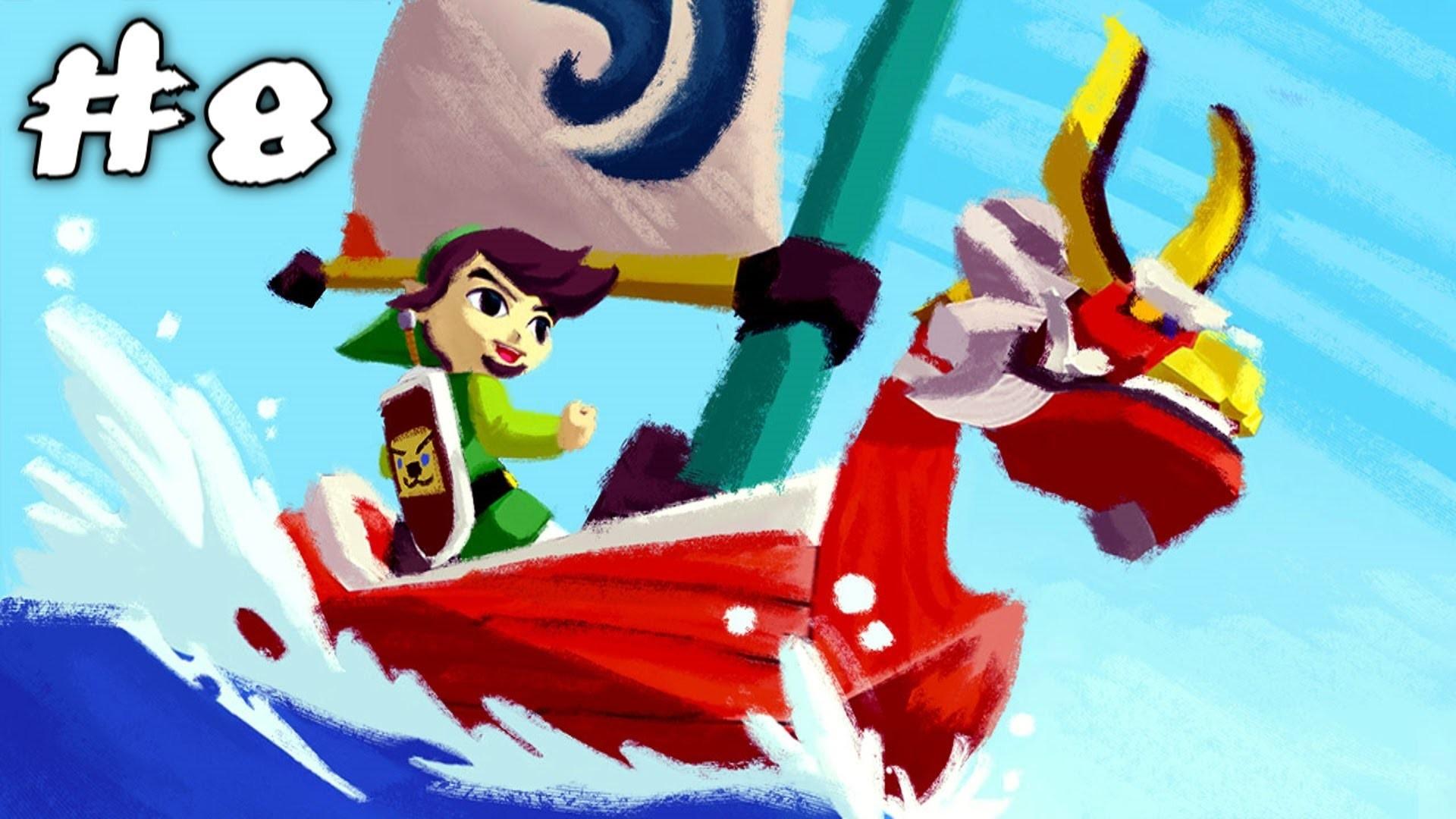 The Legend of Zelda: The Wind Waker HD Wii U Walkthrough   #8   King of Red  Lions – YouTube