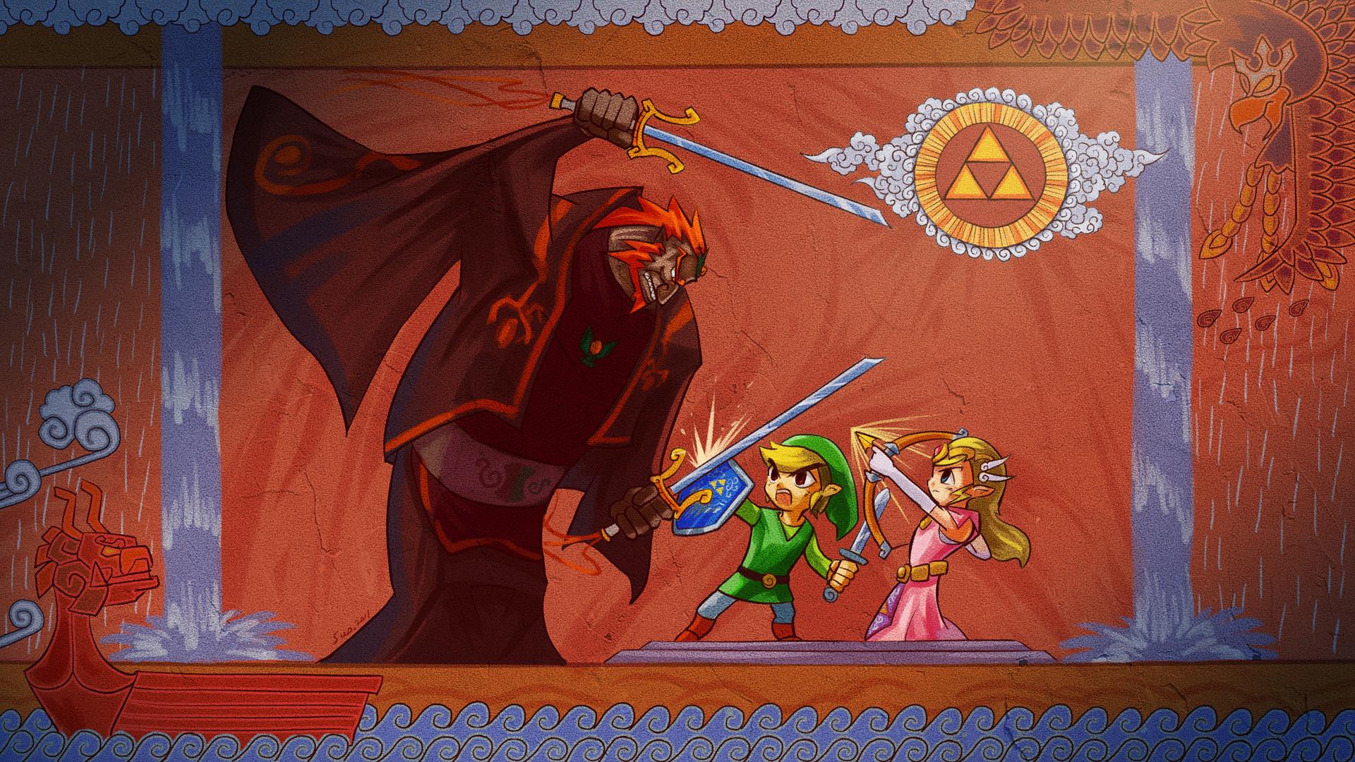 View Fullsize Zelda no Densetsu: Kaze no Takuto Image