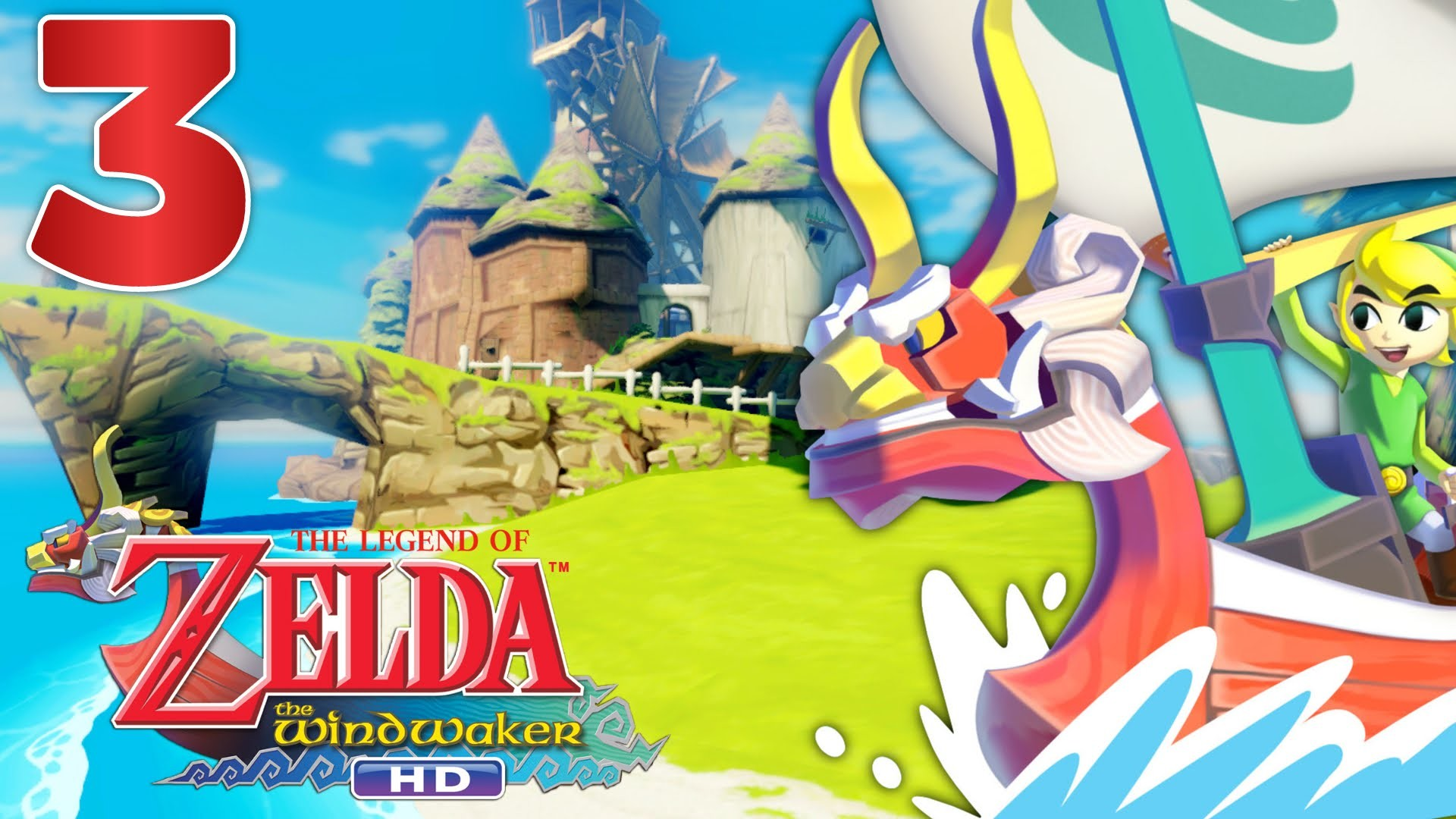 Zelda Wind Waker HD Episode 3 FR Wii U   ON A UNE VOILE !