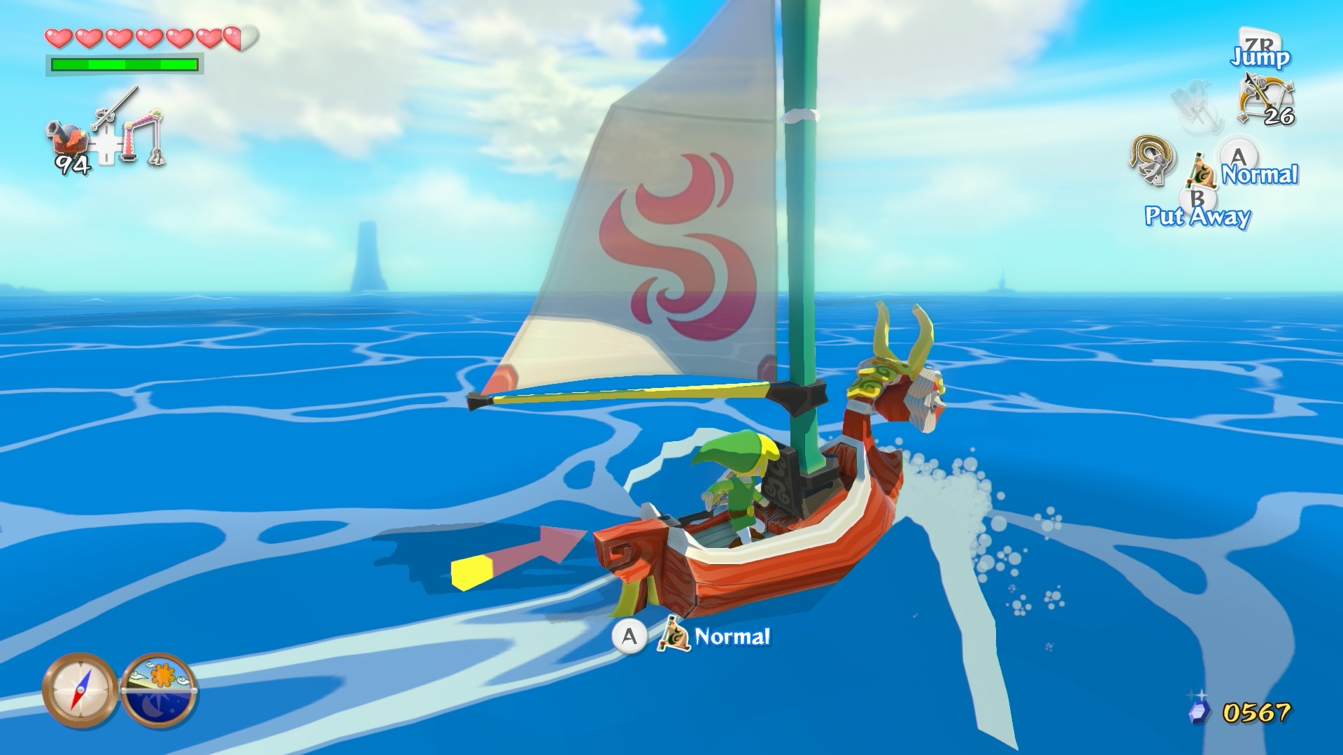 Expect to see The Legend of Zelda: Wind Waker HD in October 2013 for the  Wii U.
