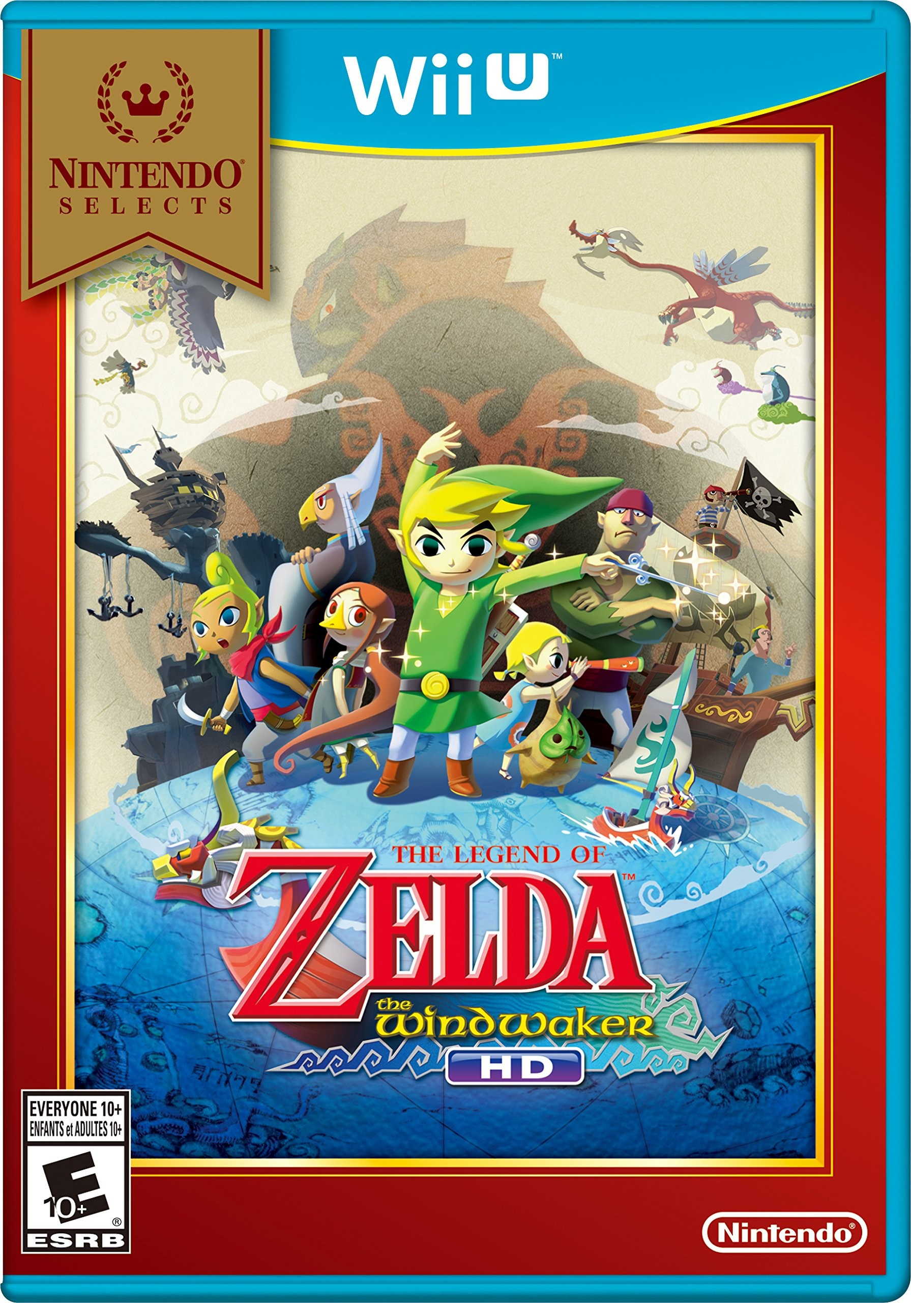 Nintendo Selects: The Legend of Zelda: The Wind Waker HD – Wii U