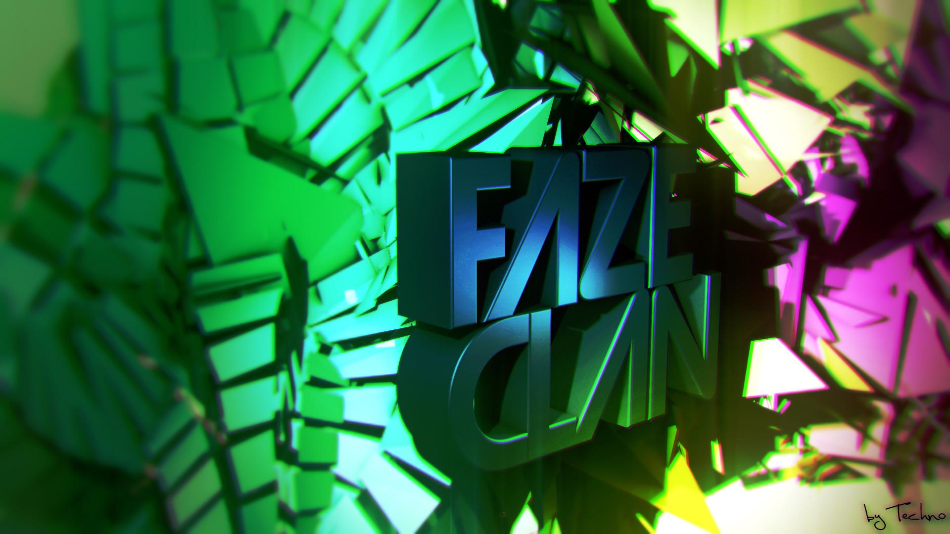 White Faze Clan Desktop Background for Pinterest