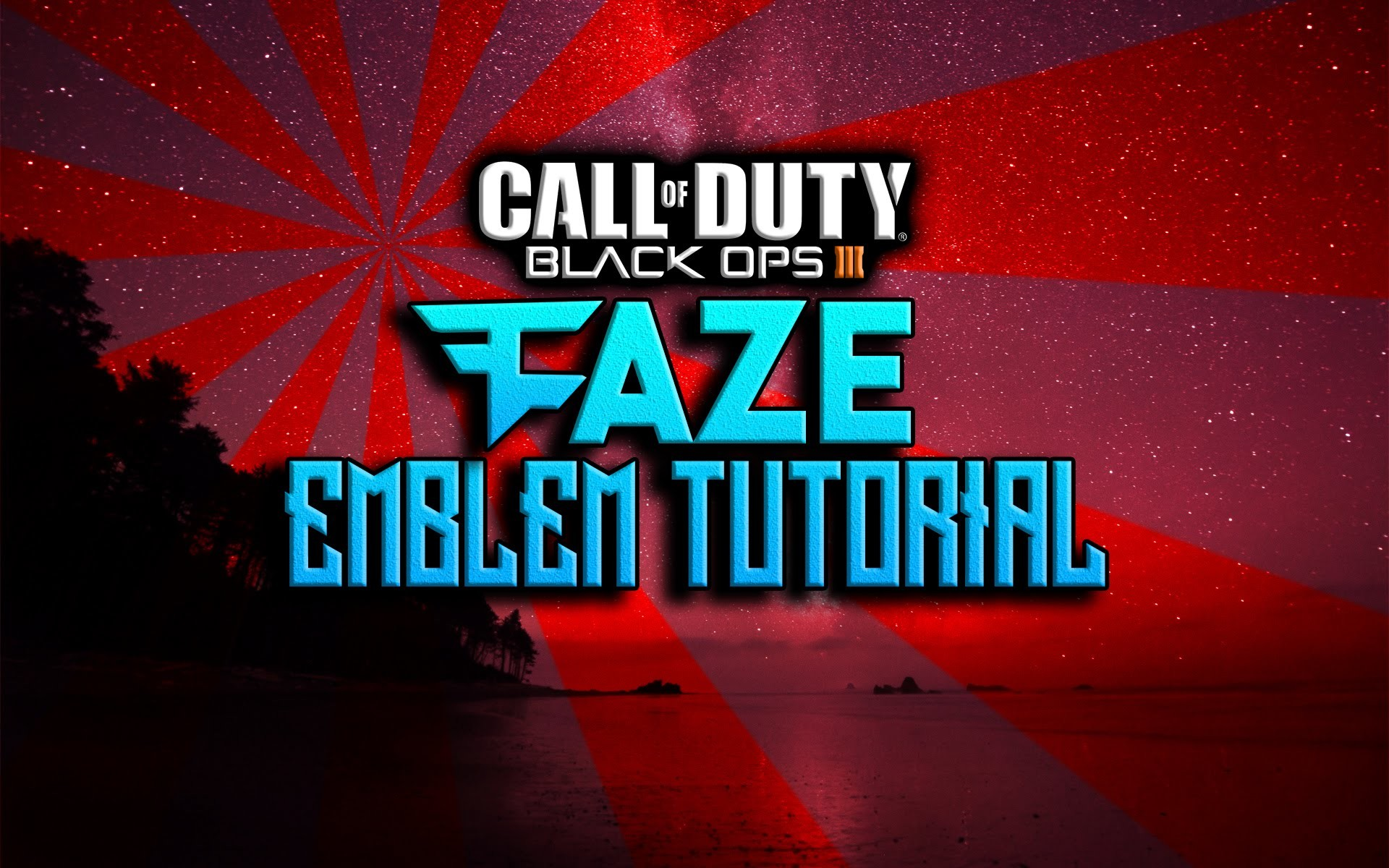 FaZe Clan Logo Emblem Tutorial: COD Black Ops 3 Emblem Tutorial! FaZe  Emblem Bo3. – YouTube