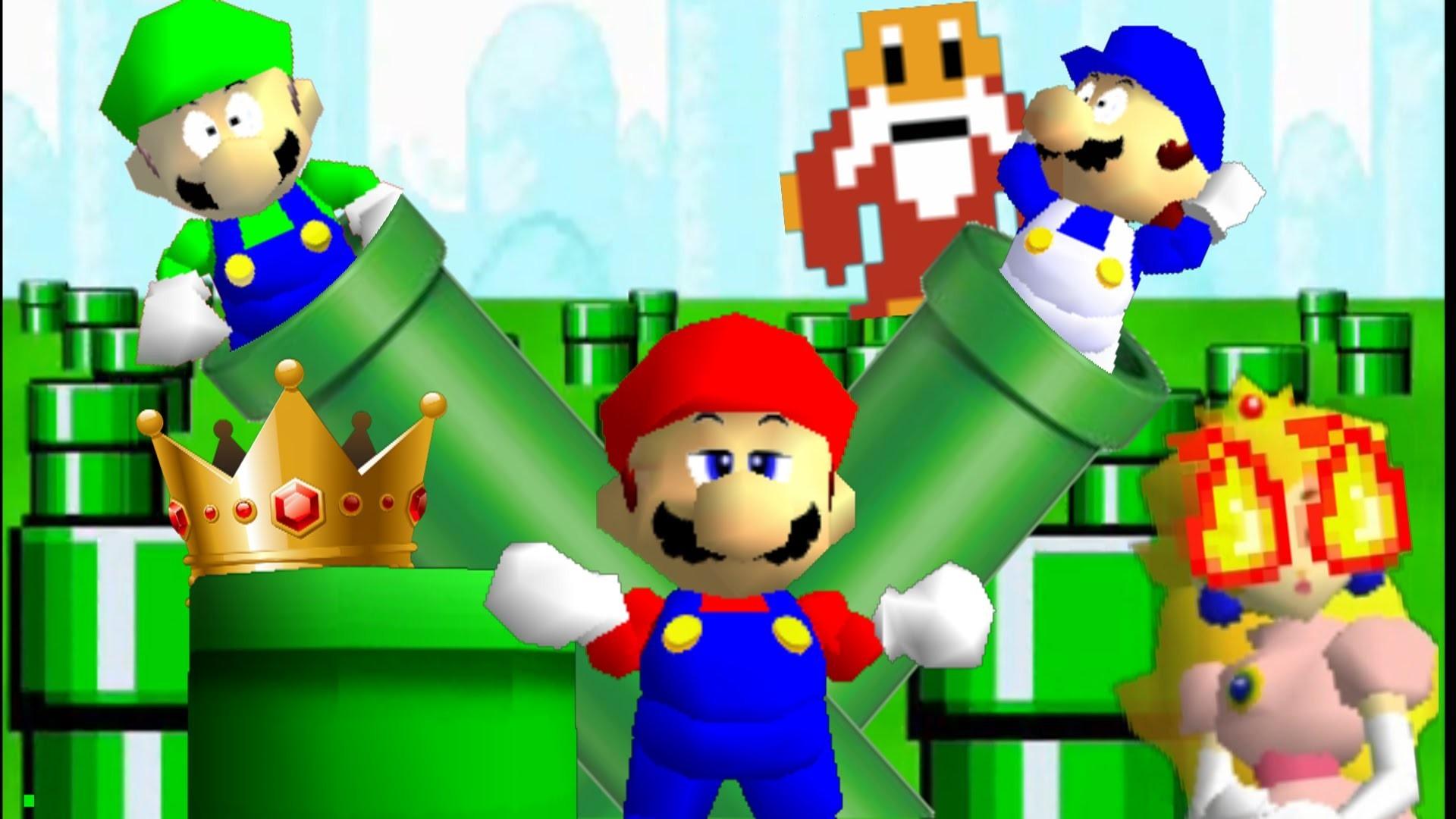 Super Mario 64 Wallpaper