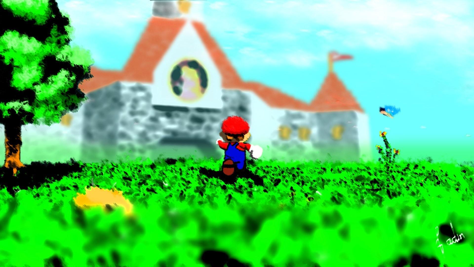 Video Game – Super Mario 64 Wallpaper
