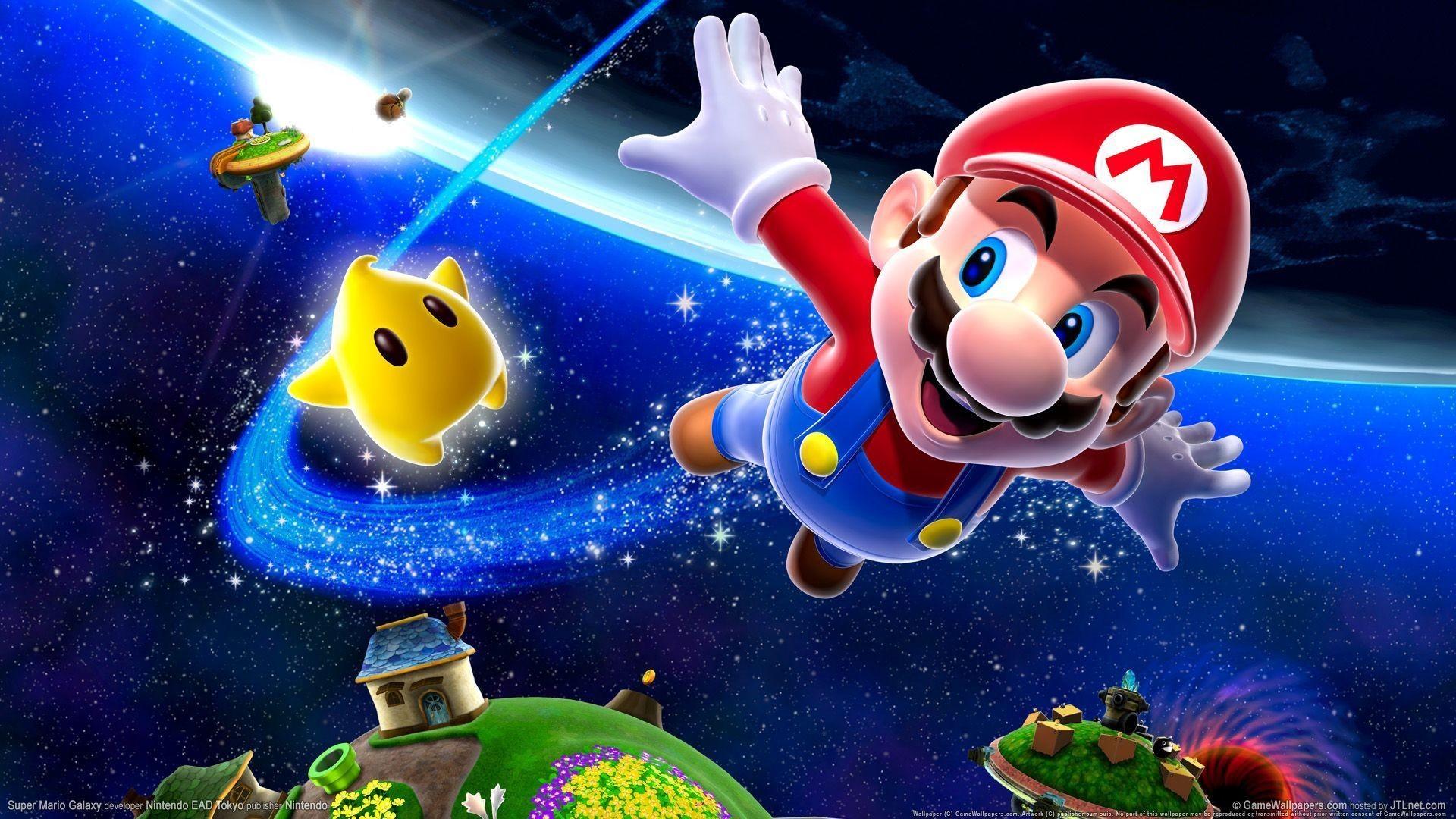 Super Mario Galaxy Wallpapers