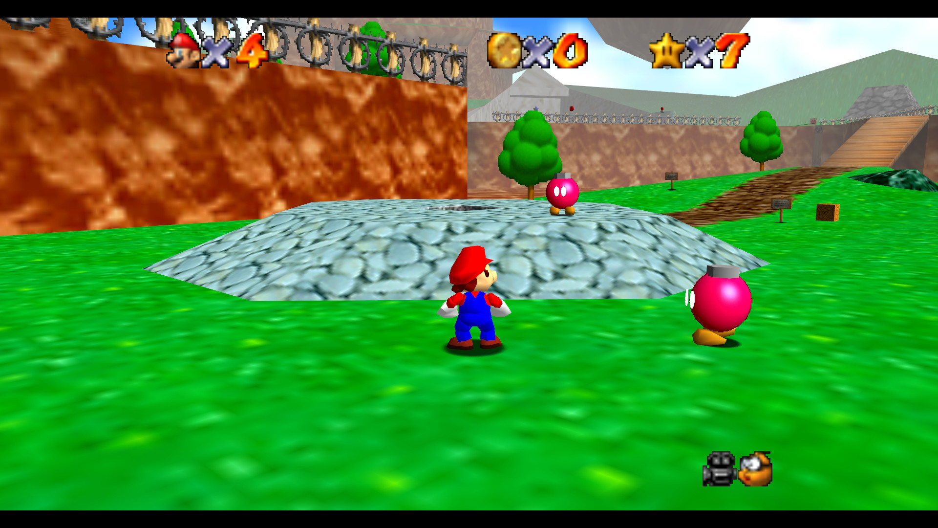 Image – Bob-omb Battlefield (Super Mario 64).png | MarioWiki | FANDOM  powered by Wikia