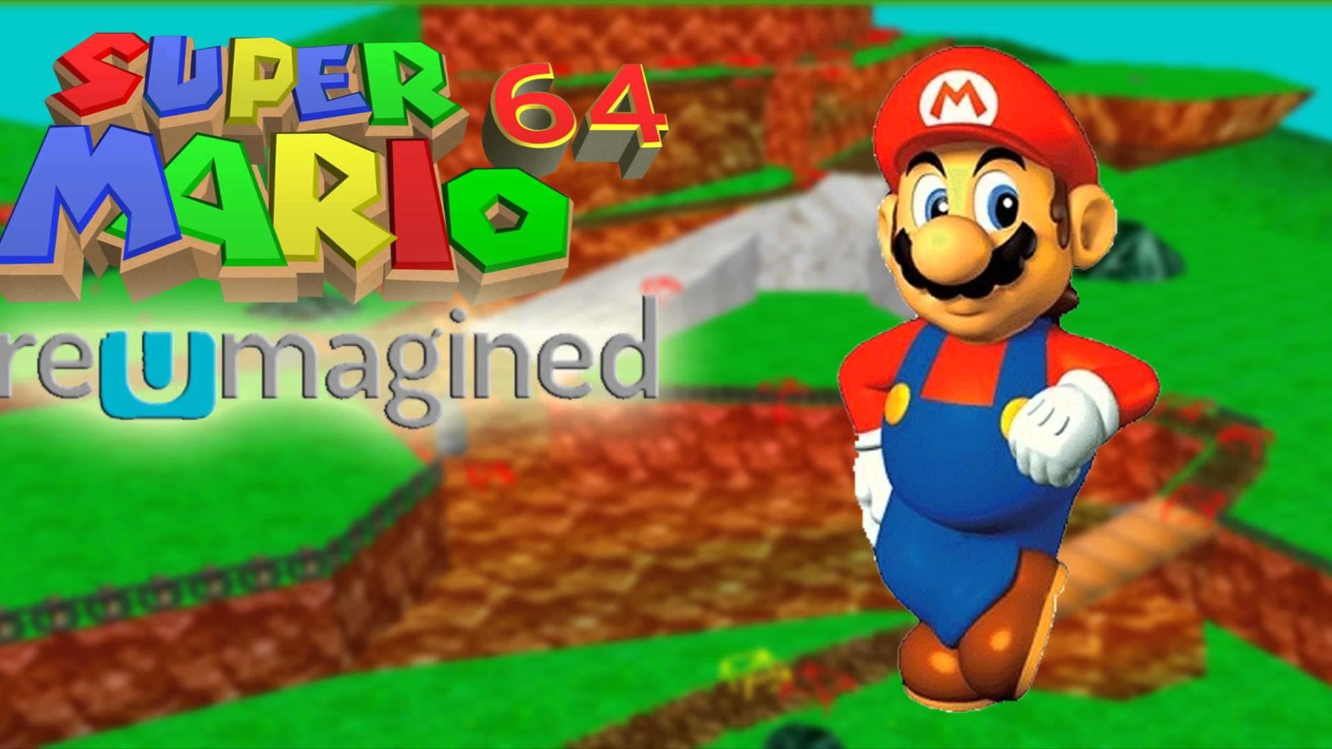 Mario 64 Reumagined – Slide (Fanmade)