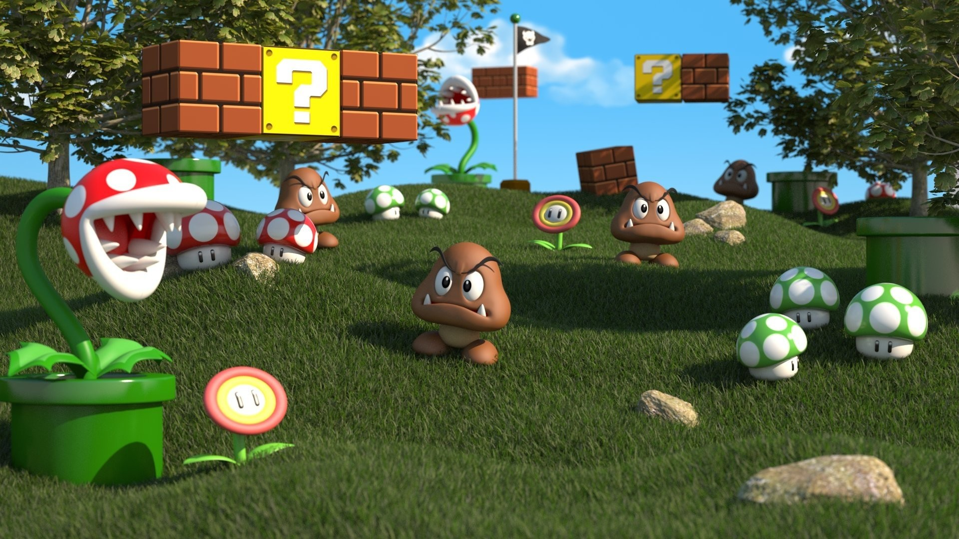 HD Wallpaper | Background ID:431019. Video Game Super Mario 3D  Land