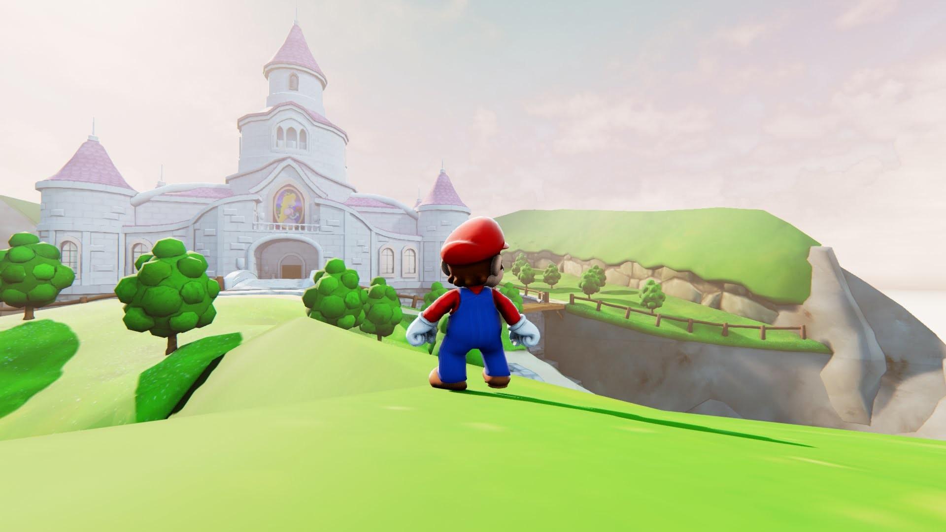 Super Mario 64 Remake Gameplay – Unreal Engine 4 ( no Nintendo Switch or  Odyssey ) – YouTube