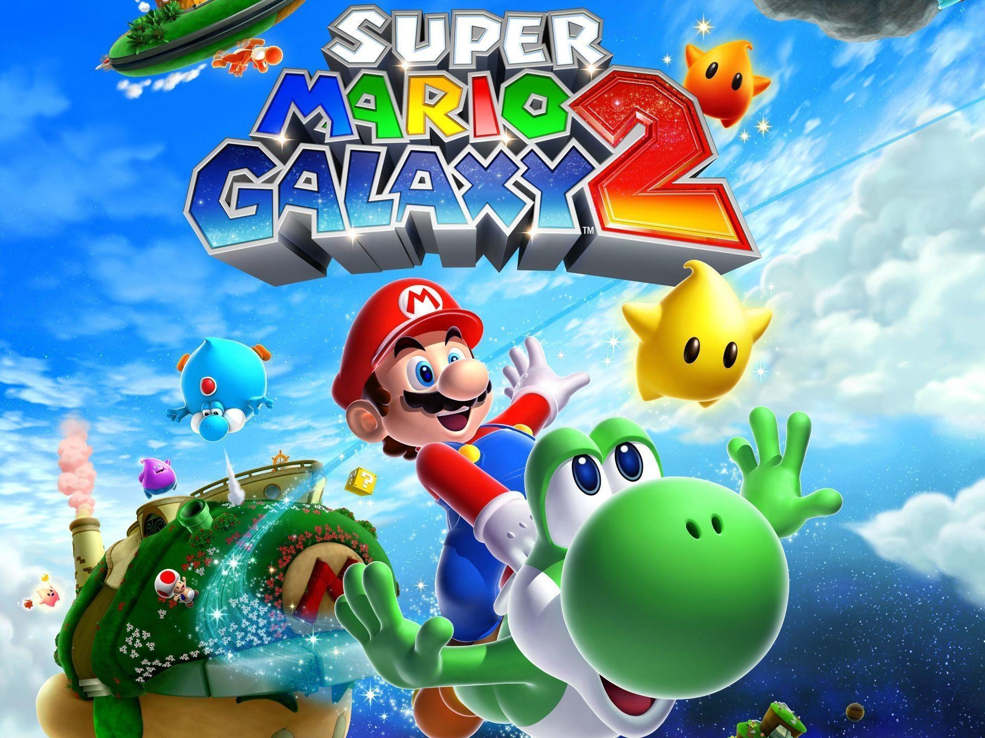 Super Mario Galaxy 2 Wallpapers