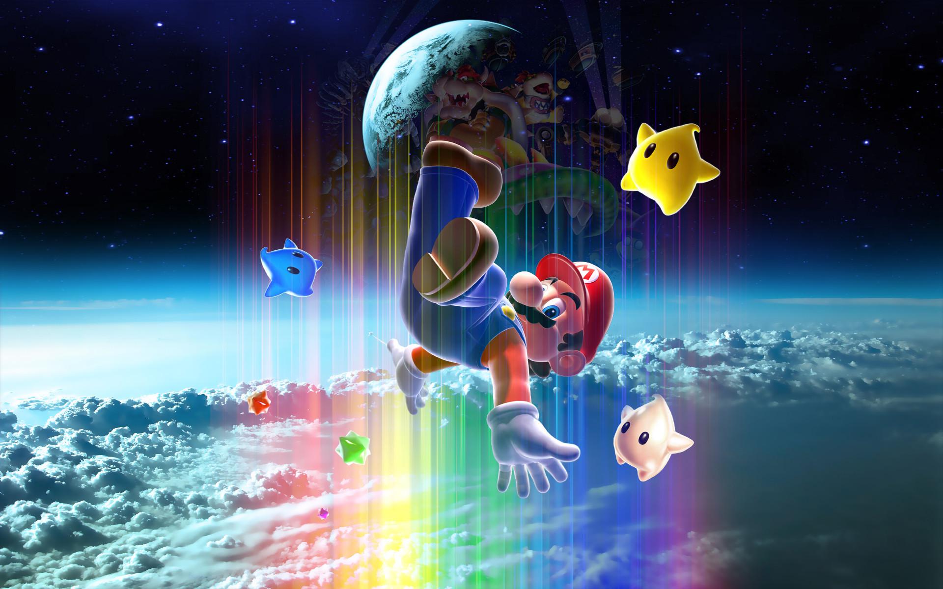 Super Mario Galaxy Wallpaper HD