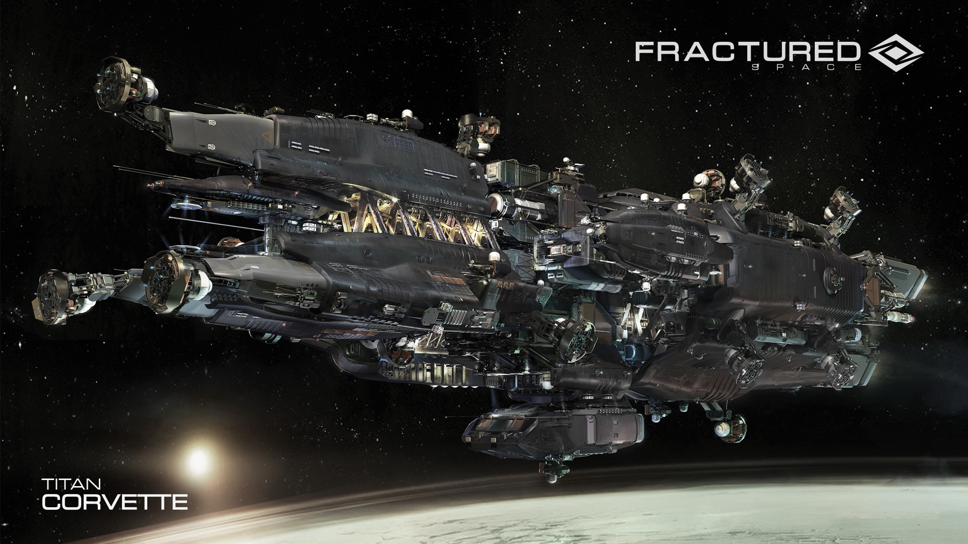 Steam Community :: Guide :: All Fractured Space Wallpapers, Available In HD