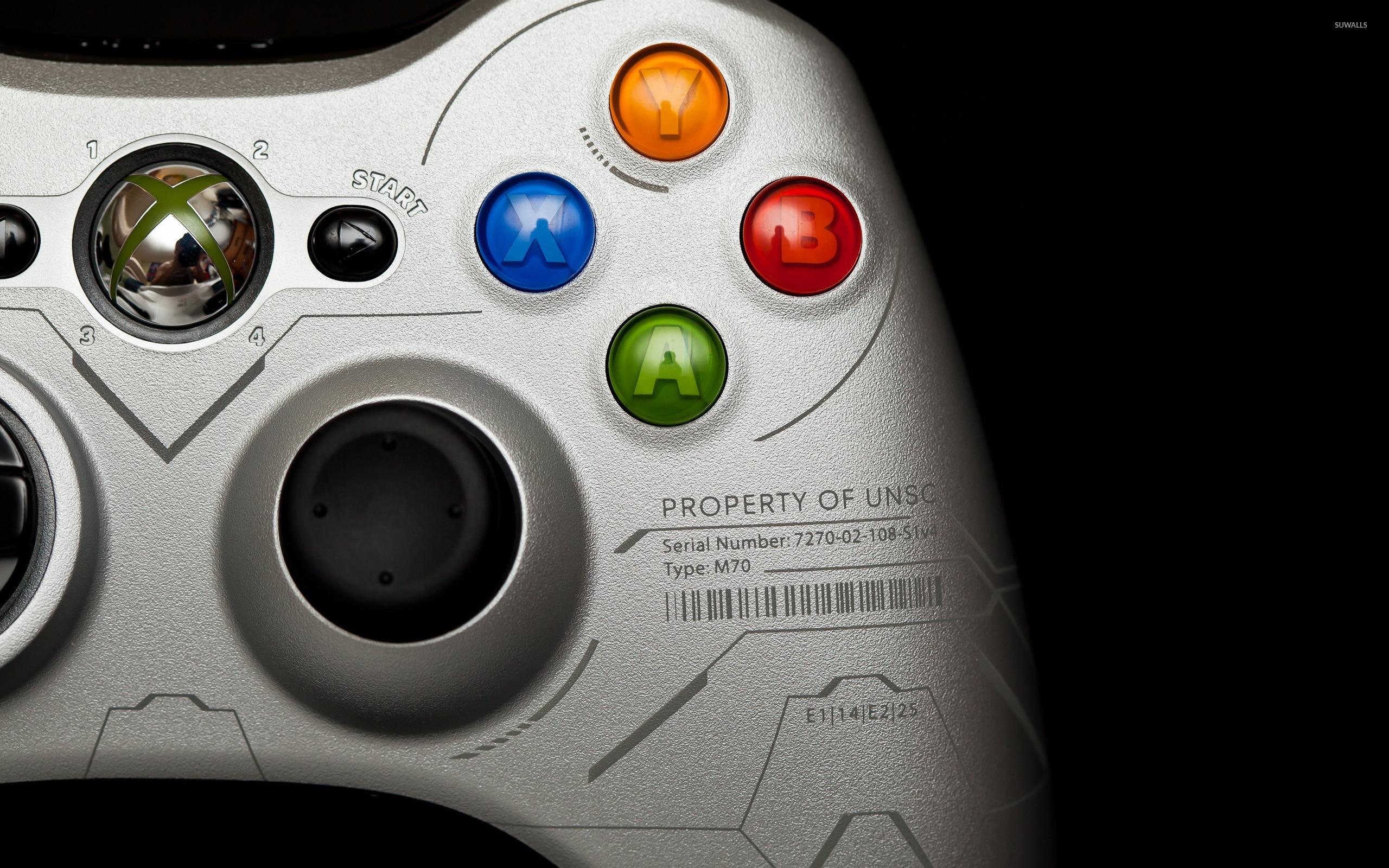 Xbox 360 silver controller wallpaper jpg