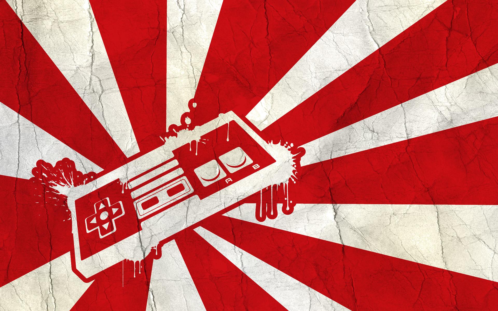 Nintendo Video Game Controller Wallpaper *Change Games Entertainment