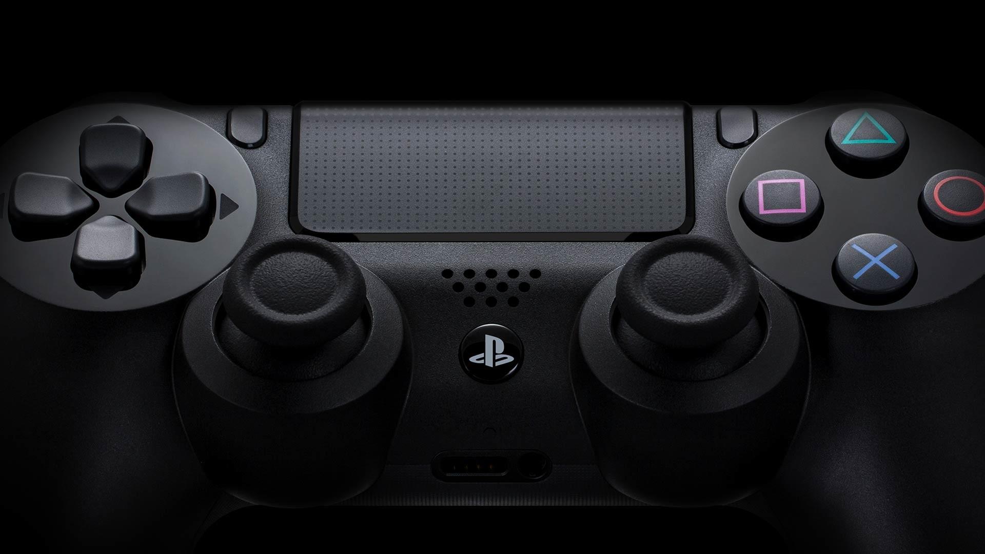 PS4 Controller Up Close Wallpaper 50374