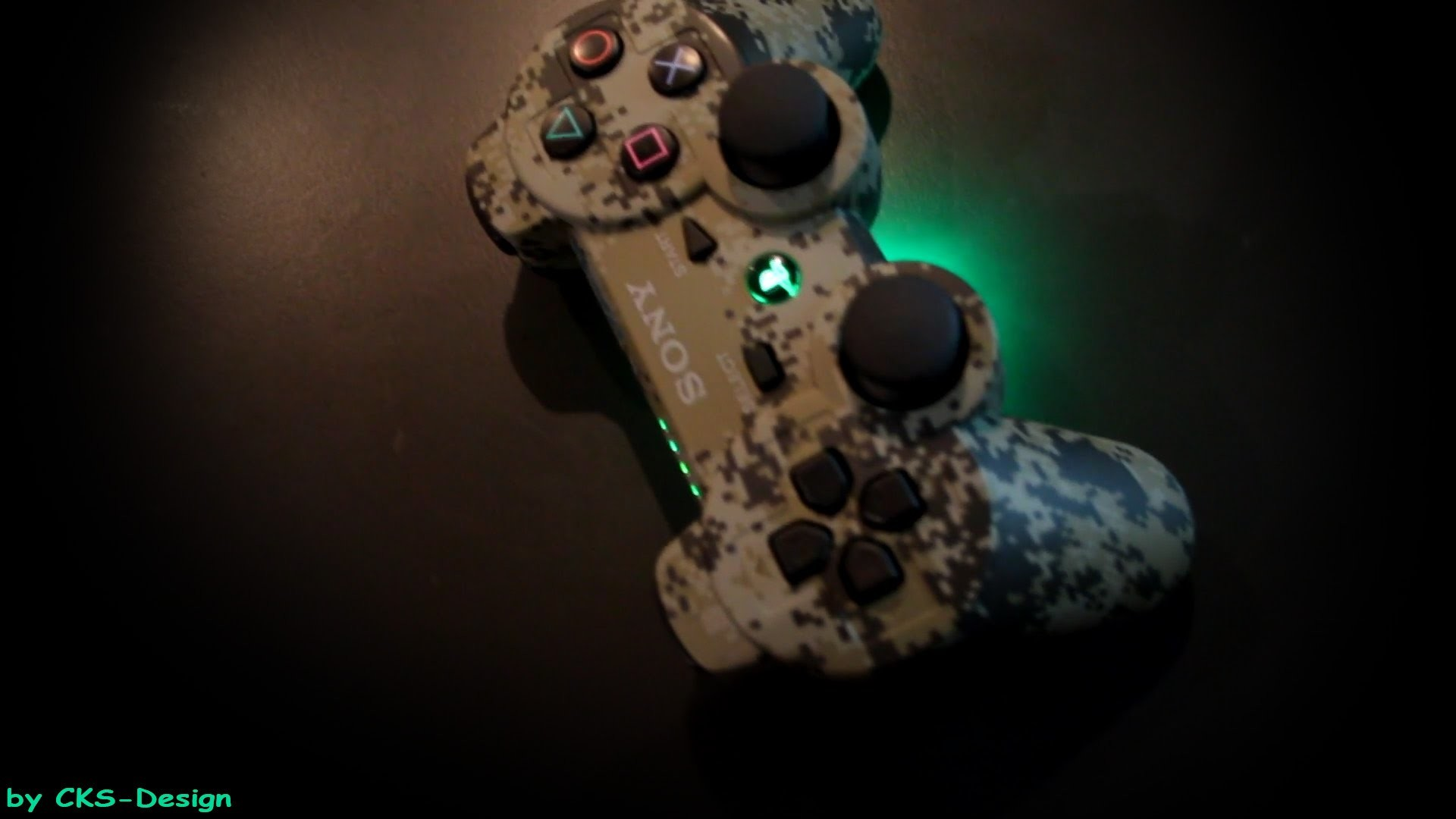 """Custom PS3 Controller """"light toxic camouflage"""" by CKS-Design [FULL HD] –  YouTube"""