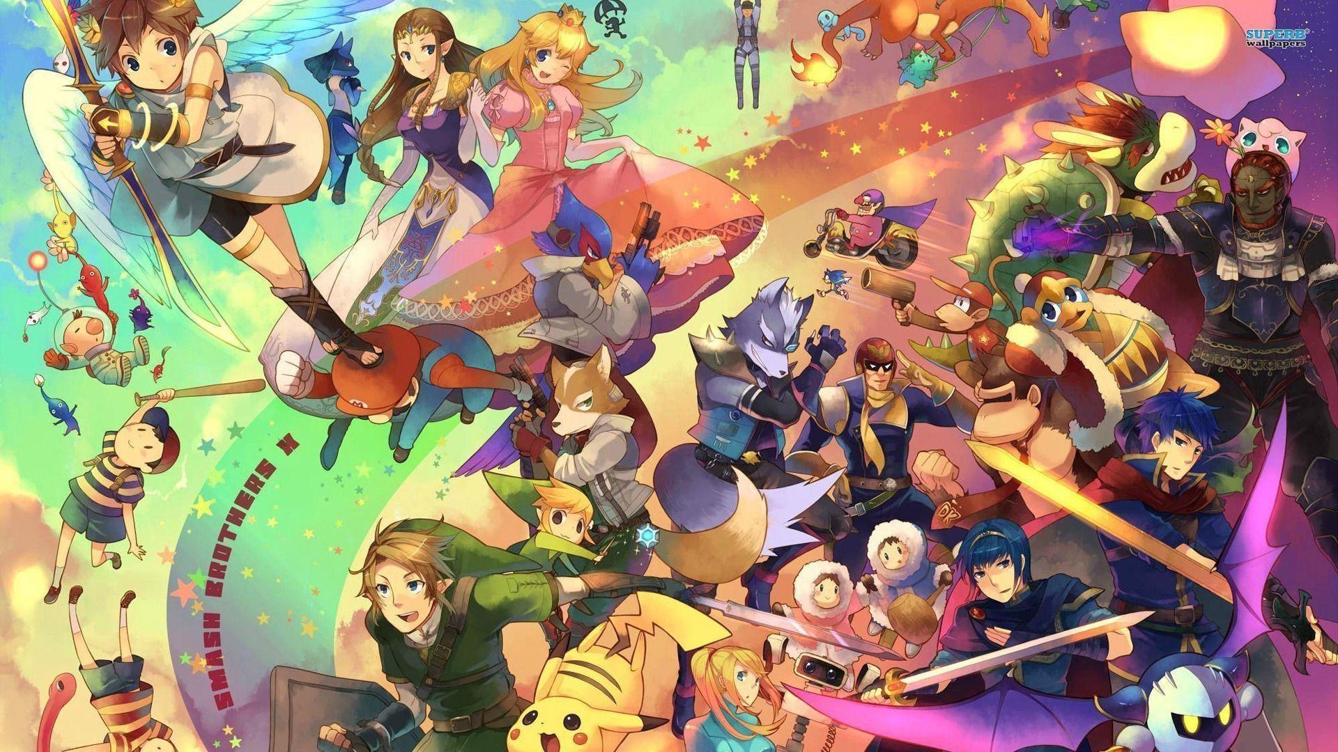 124 Super Smash Bros. Wallpapers
