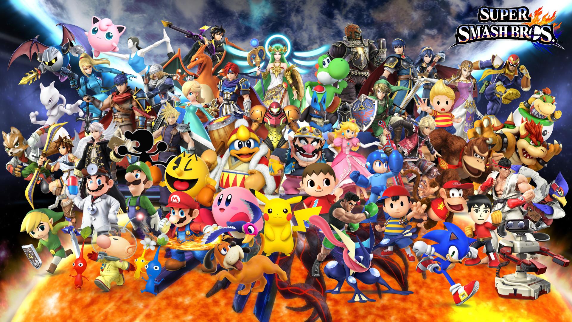Super Smash Bros 4 Wallpaper