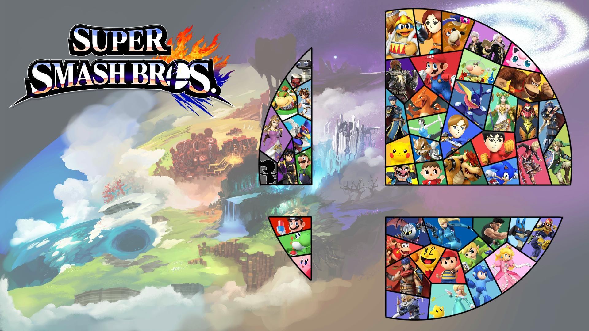 Super Smash Bros World Wallpaper