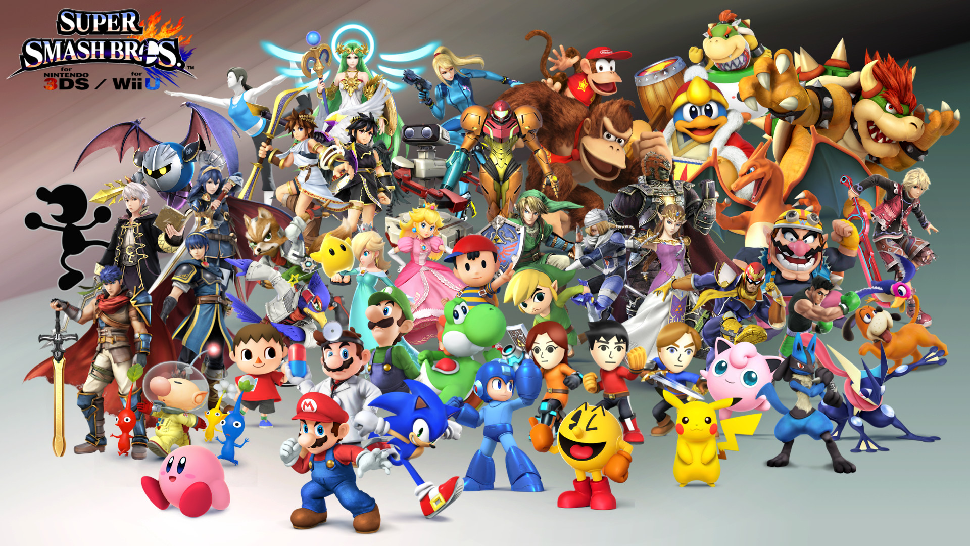Super Smash Bros 4 Character Wallpaper – Update 9/18