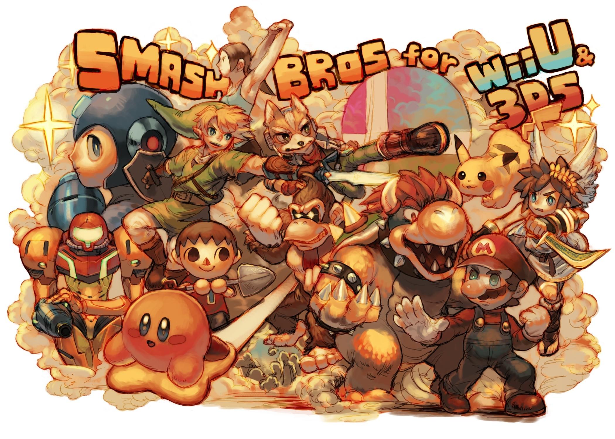 Nintendo Super Smash Bros mario collage wallpaper | | 103895 |  WallpaperUP
