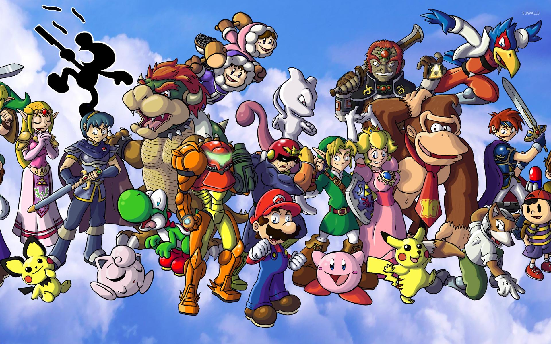 Super Smash Bros. [2] wallpaper