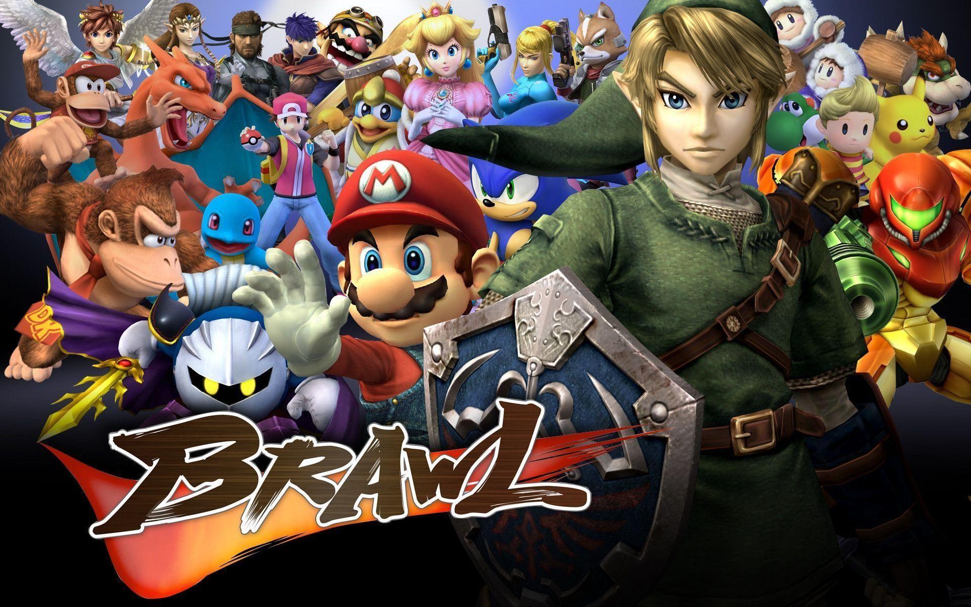 Ssbb Wallpaper Super Smash Bros Brawl – HD Wallpapers