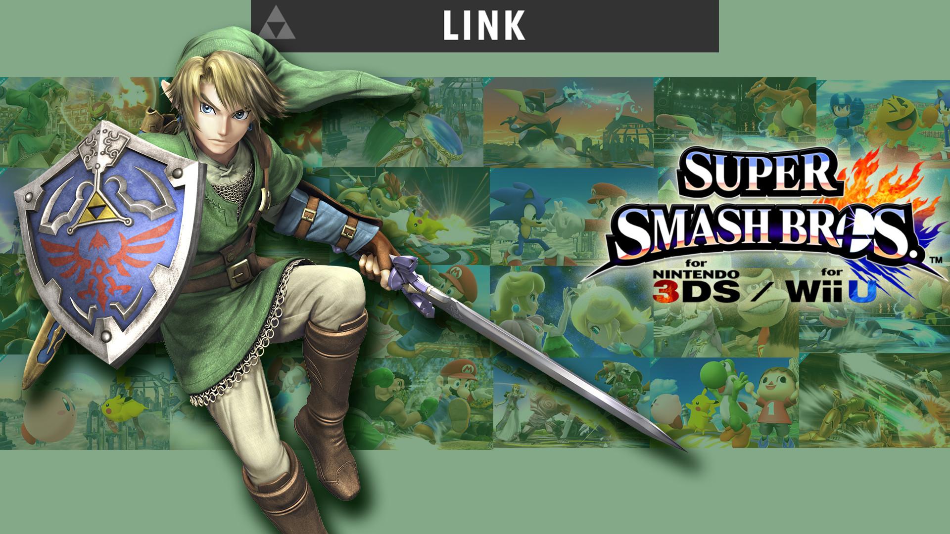 … Super Smash Bros Link Wallpaper by iagob360