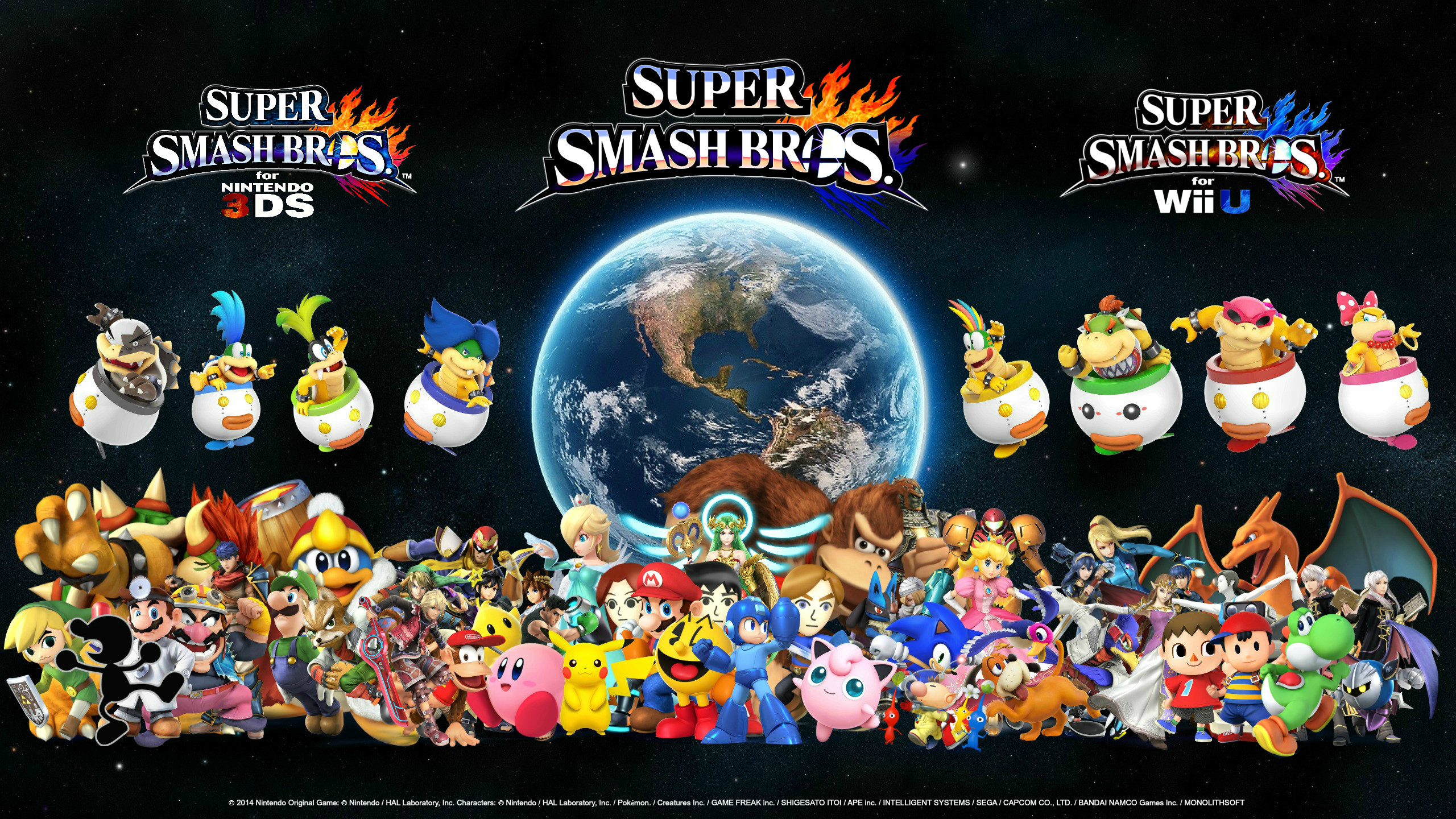 69 Super Smash Brothers