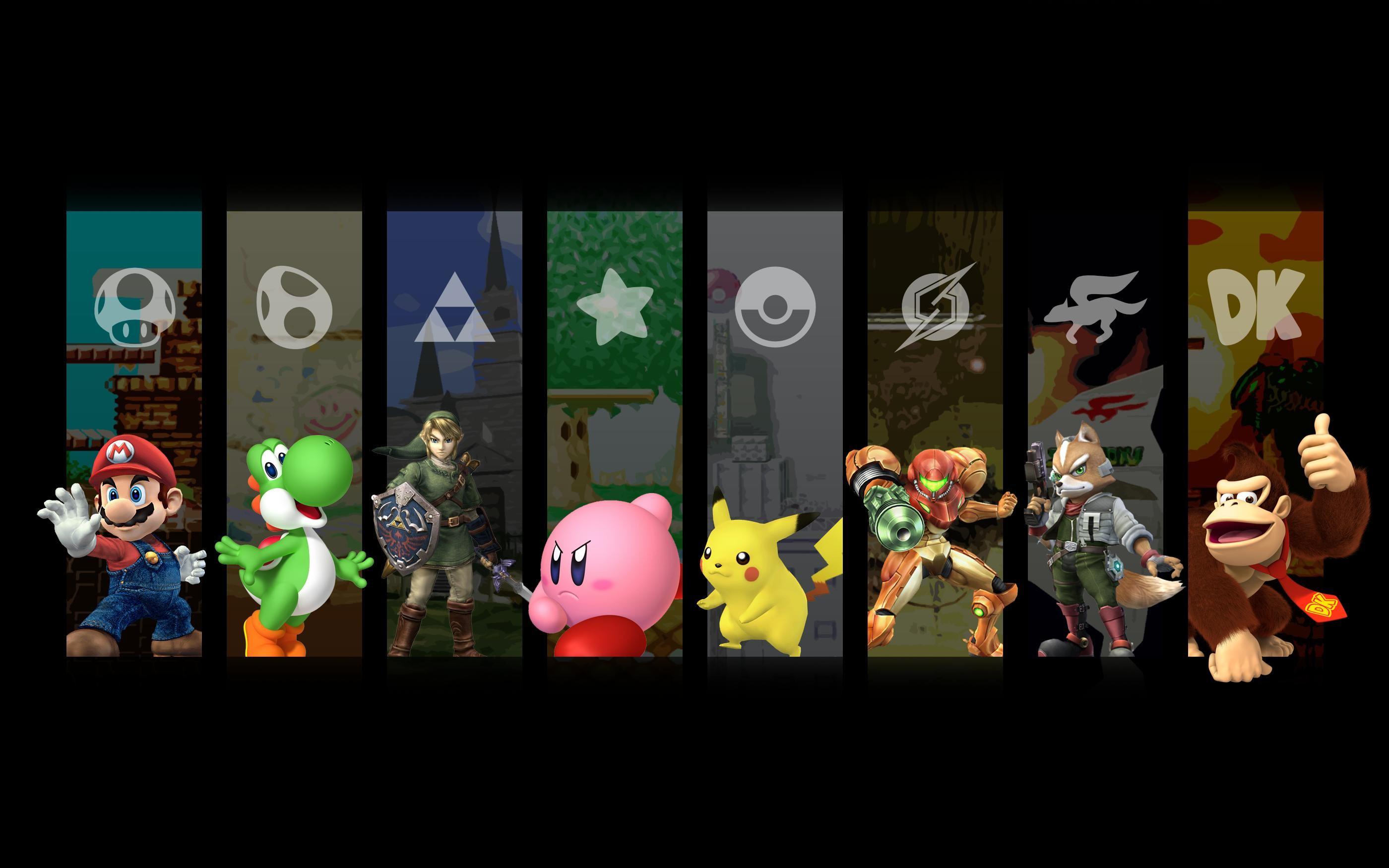 Smash Bros Wallpaper …