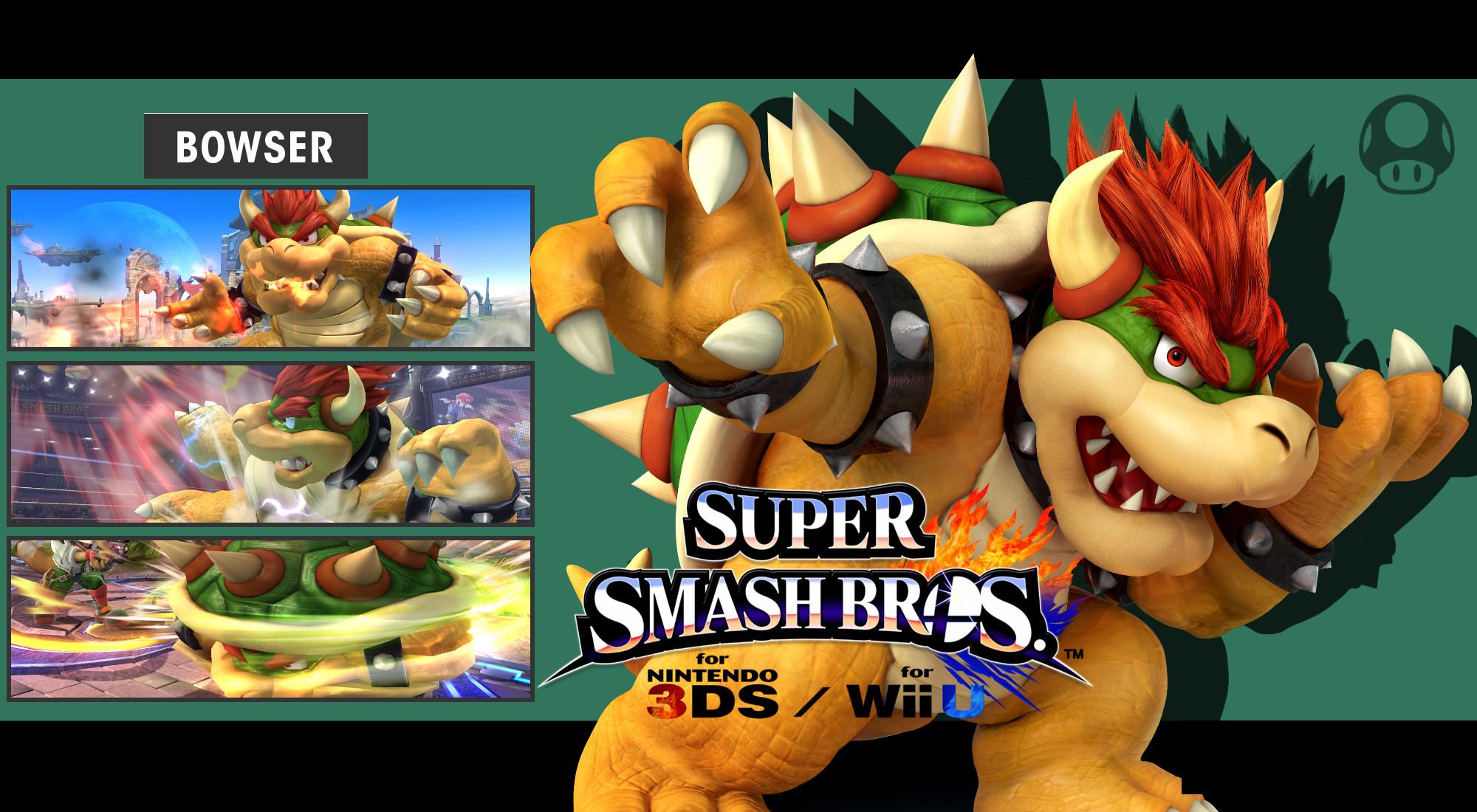 … DaKidGaming Super Smash Bros. 3DS/Wii U – Bowser Wallpaper by  DaKidGaming
