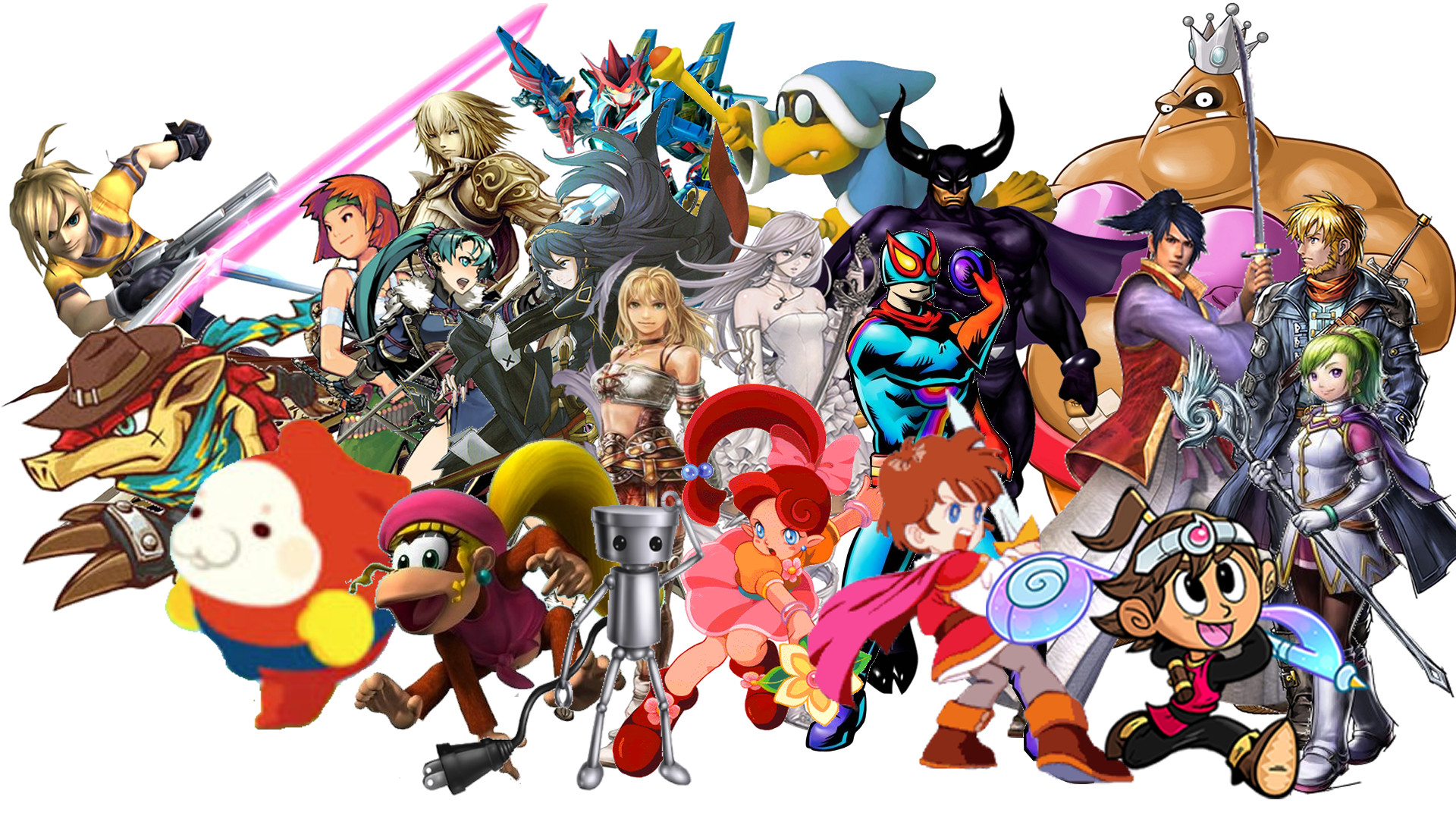 10 Super Smash Bros. For Nintendo 3ds And Wii U HD Wallpapers .