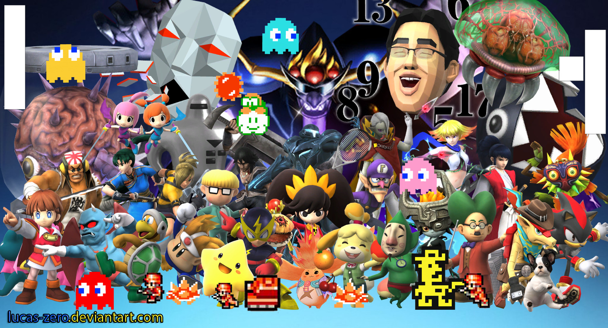 … Super Smash Bros 4 Assist Trophies Wallpaper by Lucas-Zero