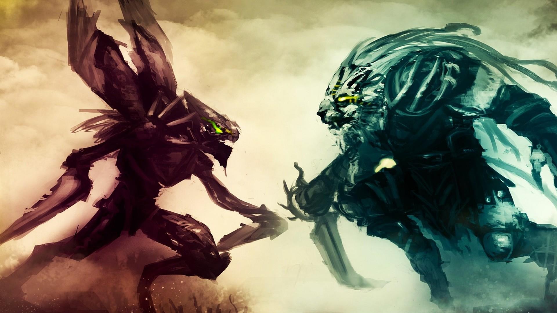 Kha'Zix vs Rengar wallpaper