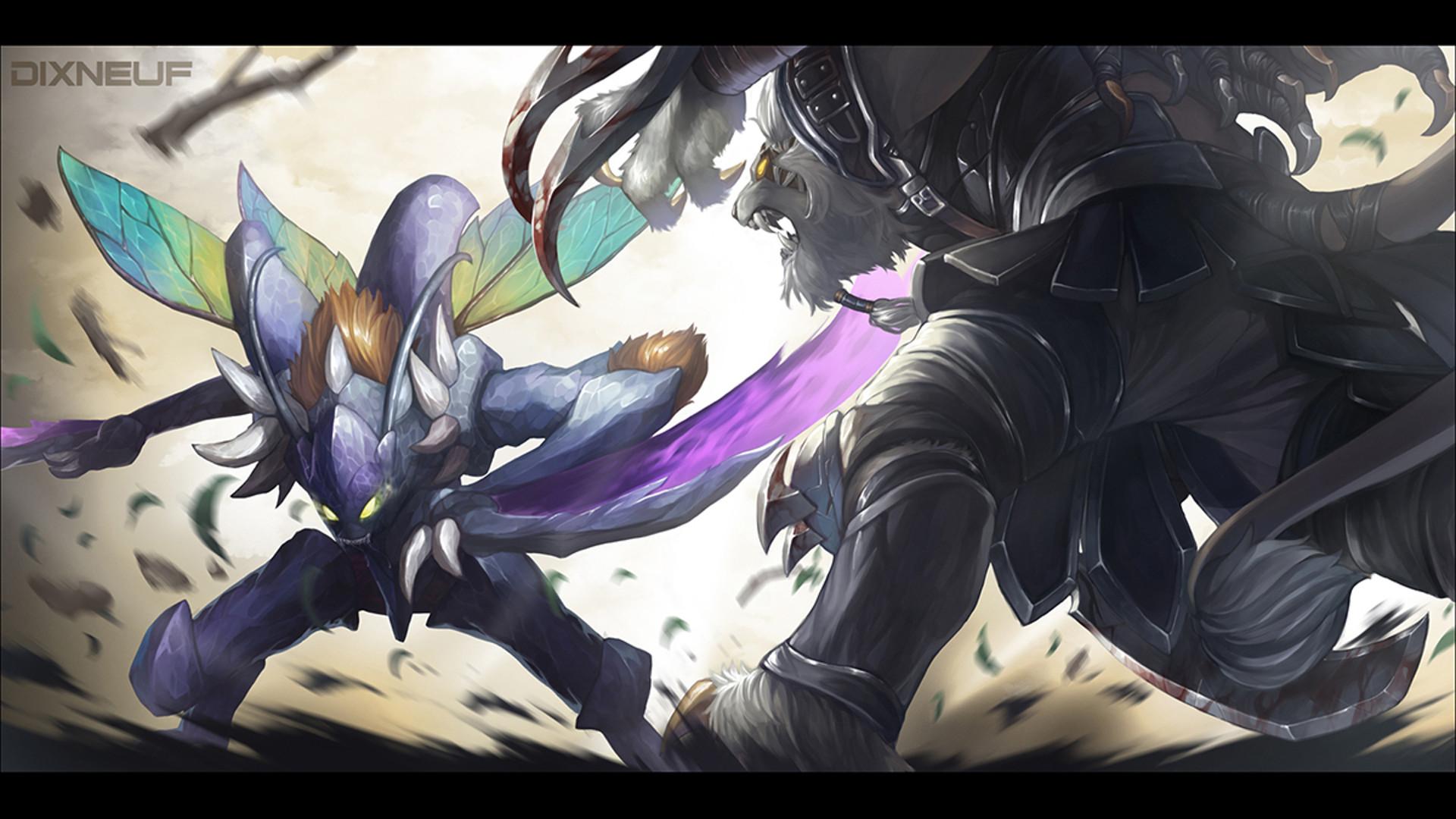 Video Game – League Of Legends Kha'Zix (League Of Legends) Rengar (