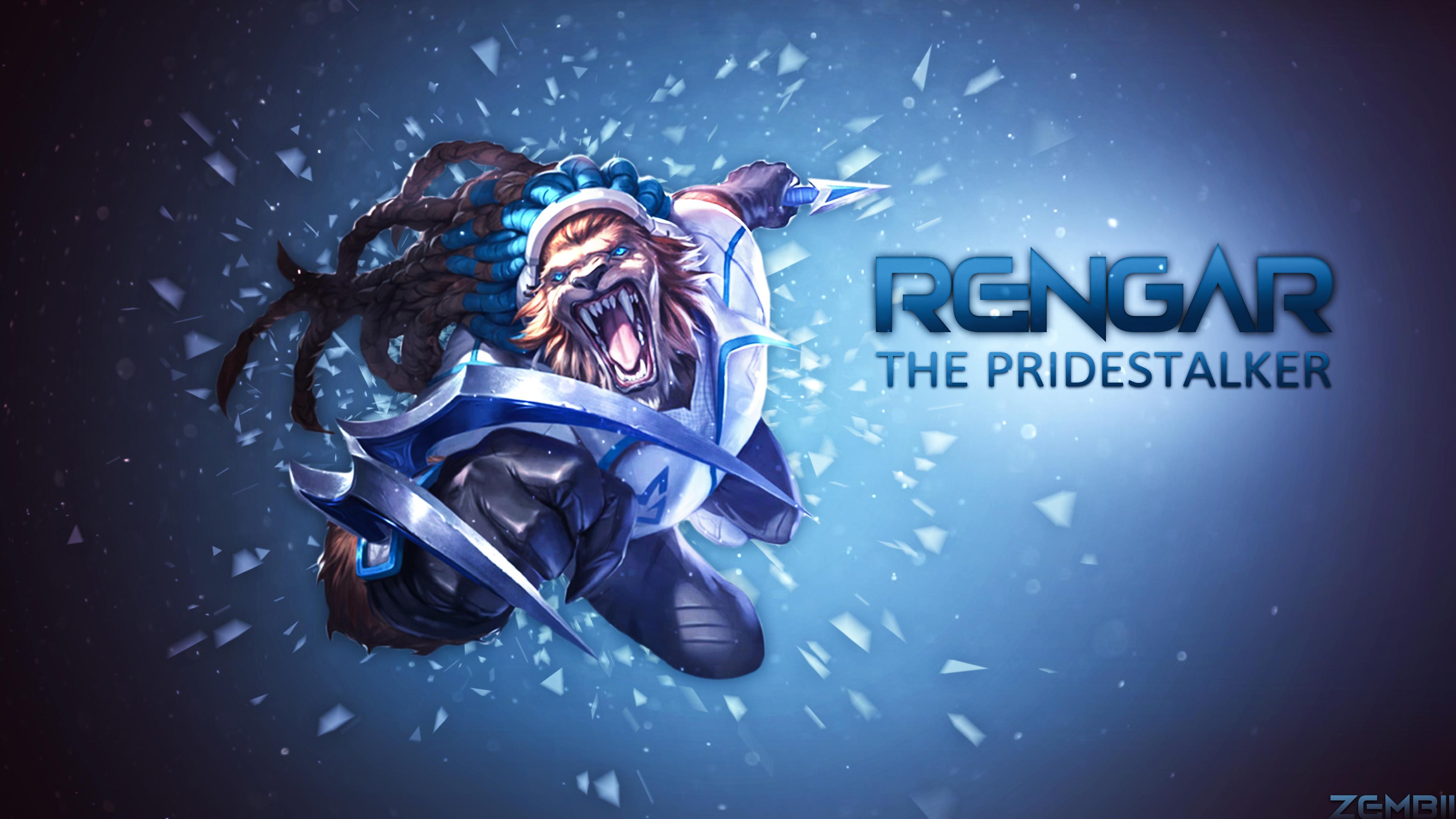 SSW Rengar by Zembii HD Wallpaper Fan Artwork League of Legends lol