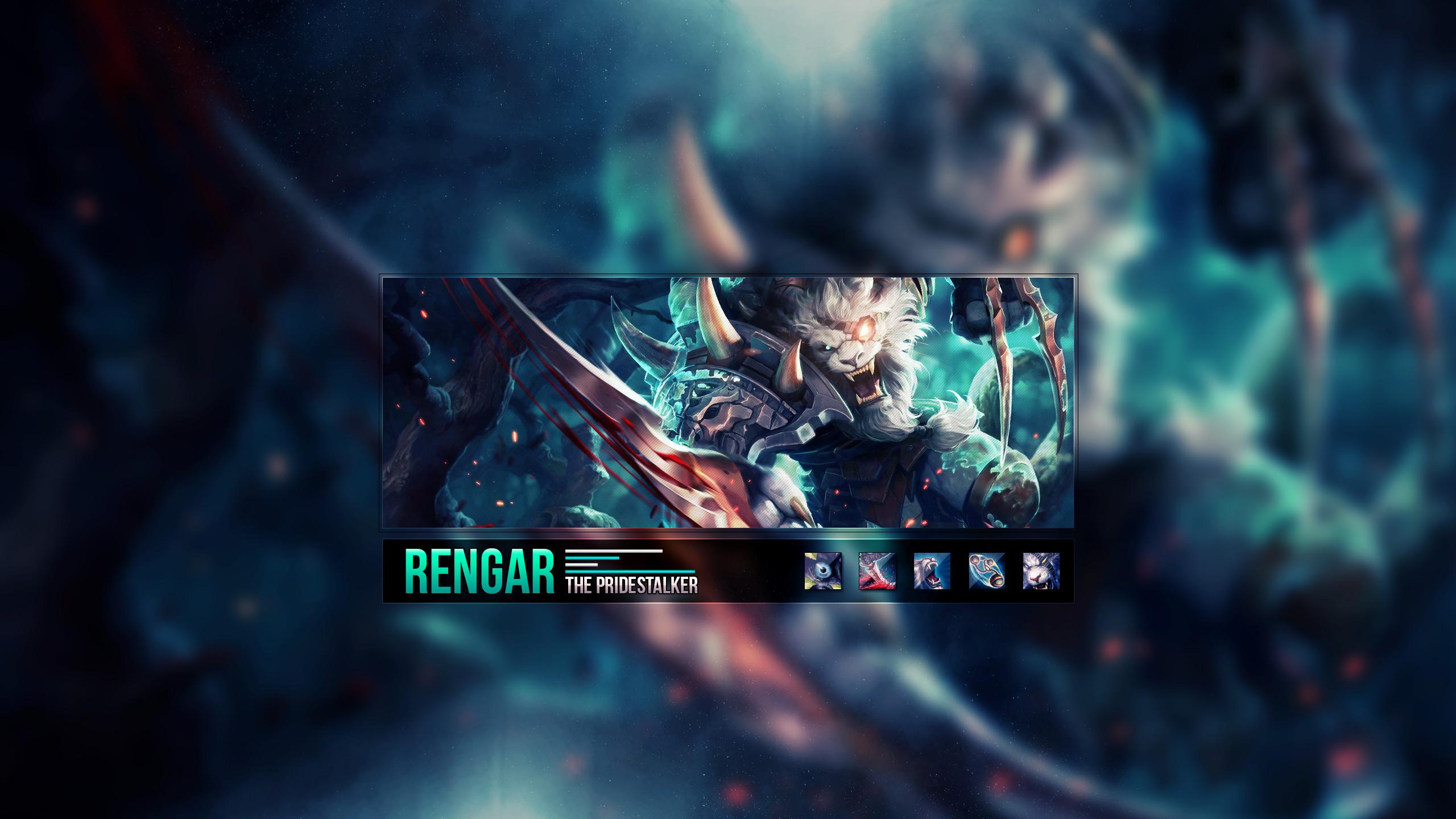 … Rengar ~ League of legends – Wallpaper by Aynoe