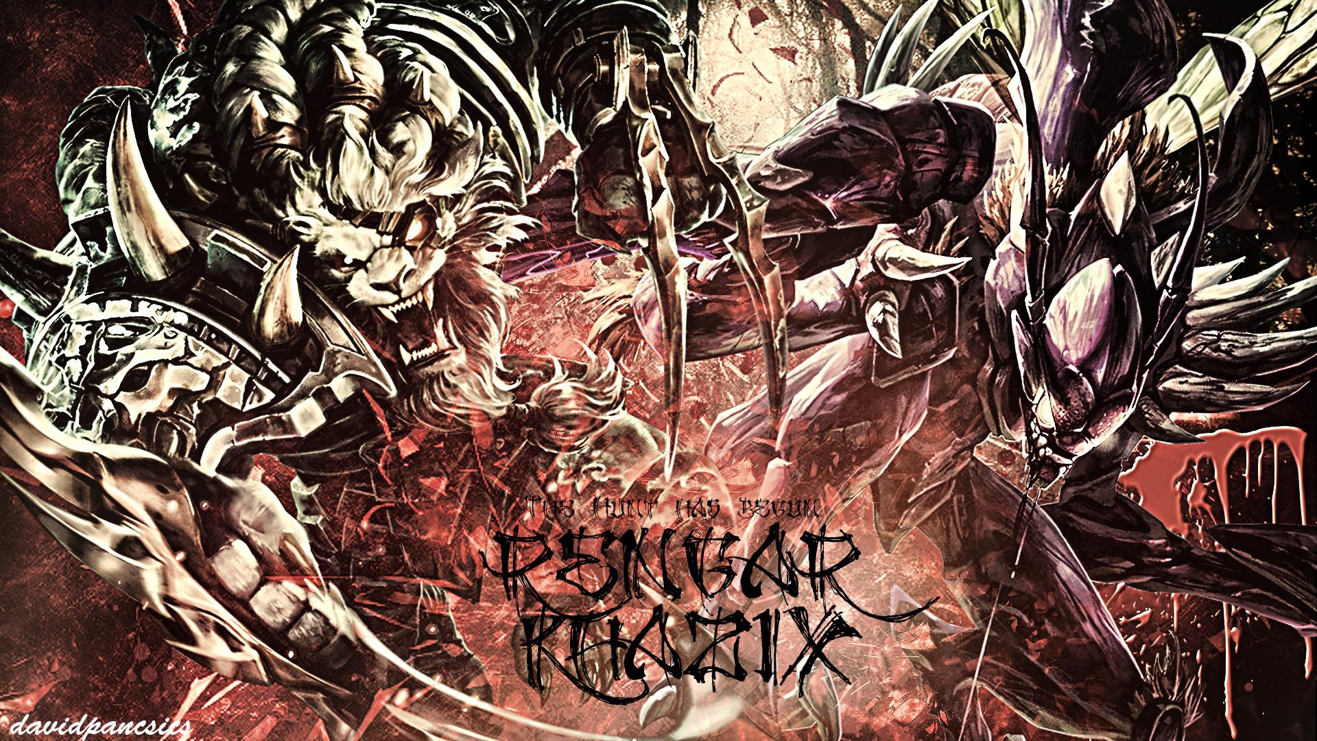 … League Of Legends – Rengar VS Kha'Zix wallpaper by pancsicsdavid
