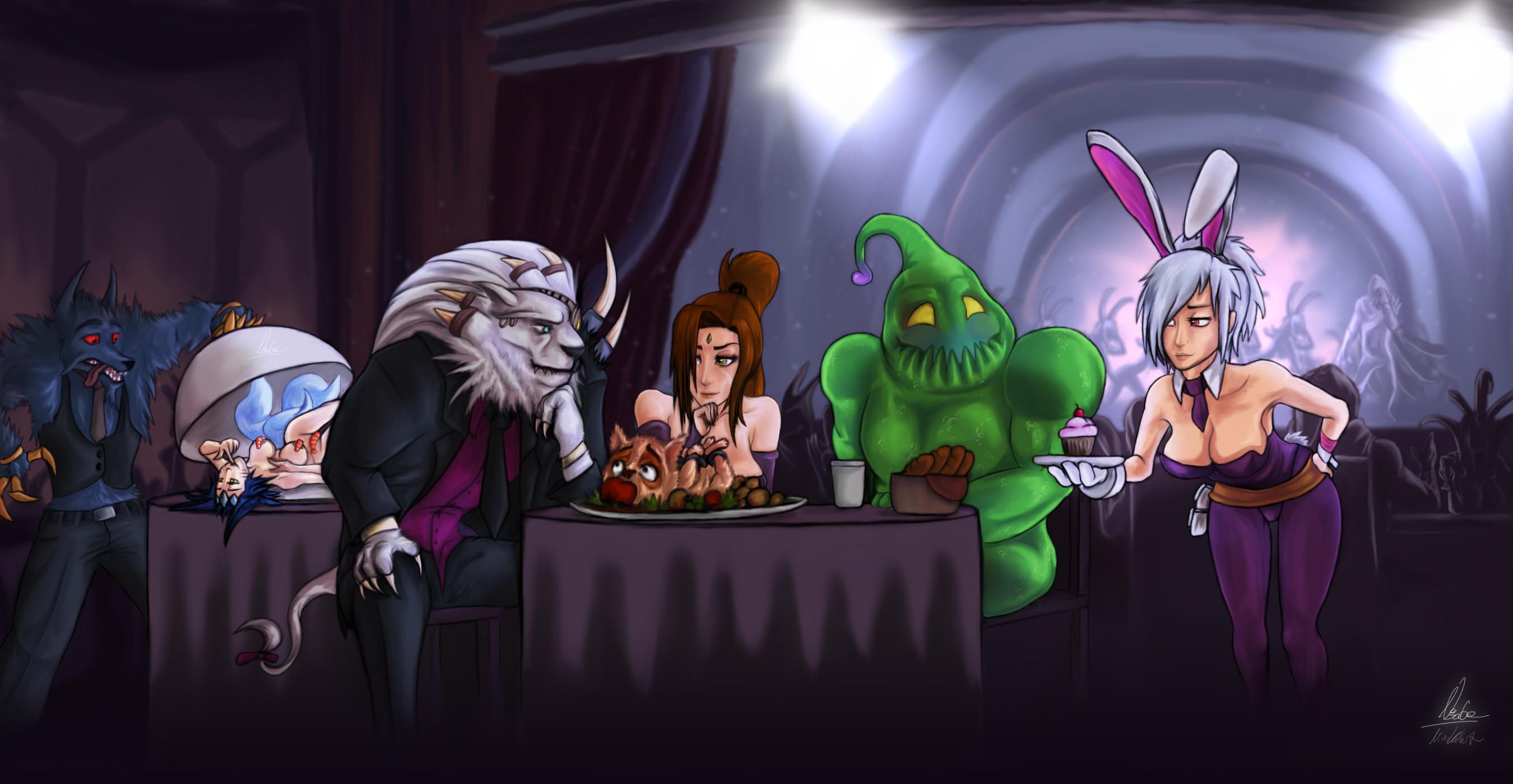 Battle Bunny Riven Zac Nidalee Rengar Warwick Ahri By No