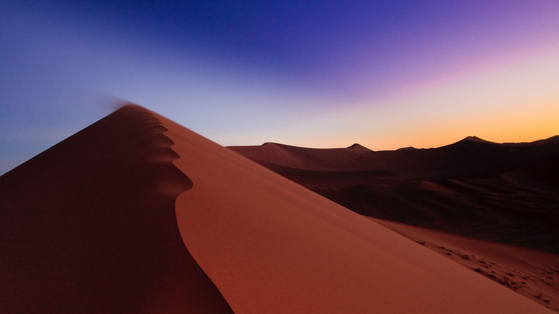 Sand dune wallpaper