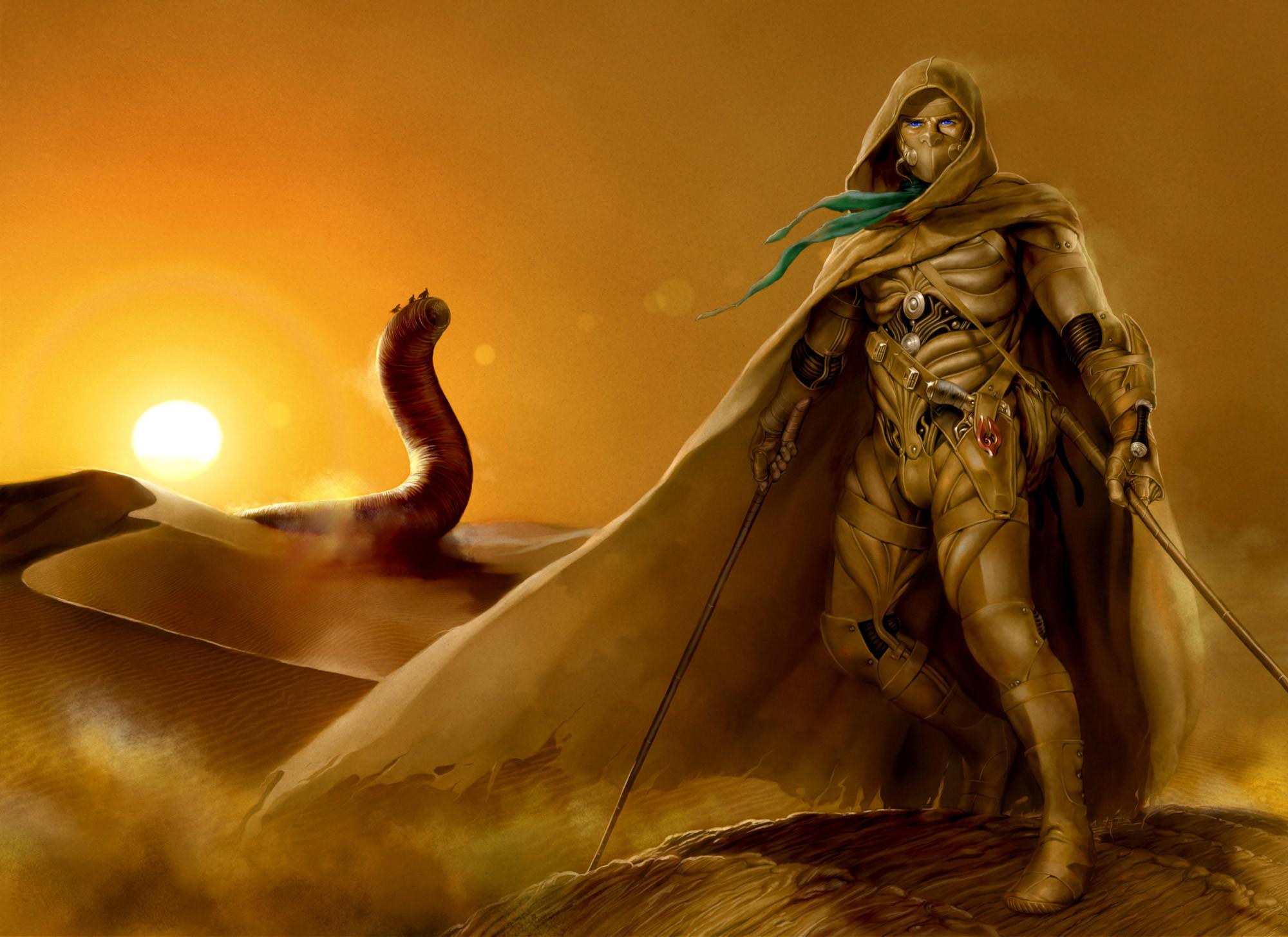 "Original art:  https://fc08.deviantart.net/fs71/f/2010/193/8/d/The_Sandworm_Riders_by_Isra2007.jpg  """
