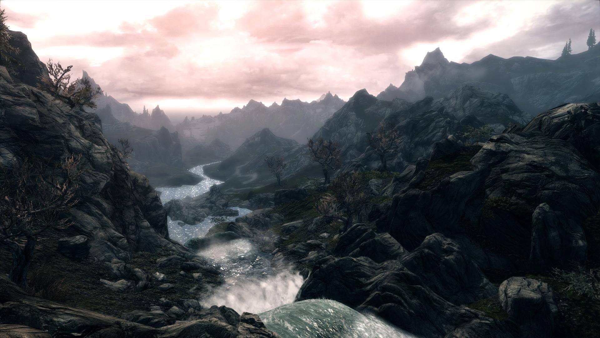 Skyrim Landscape Wallpaper #6888748