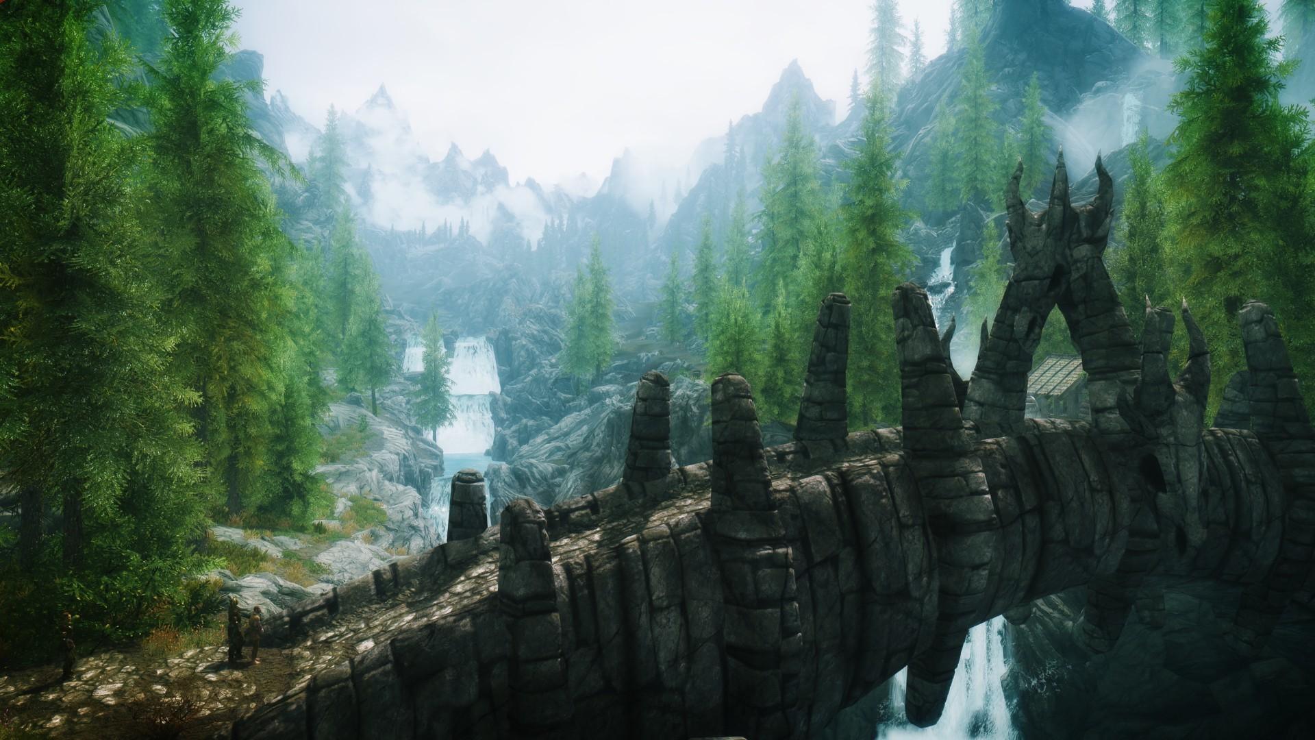 Download Elder Scrolls Skyrim HD Wallpaper