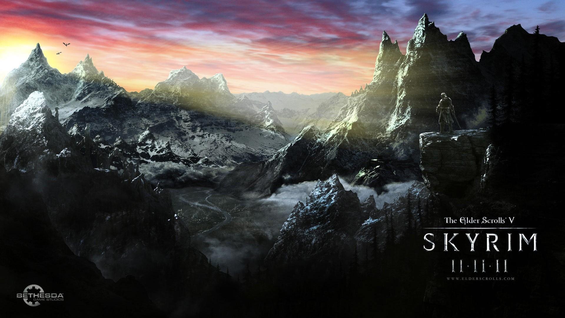 Skyrim Scrolls Elder Desktop wallpapers HD free – 266621