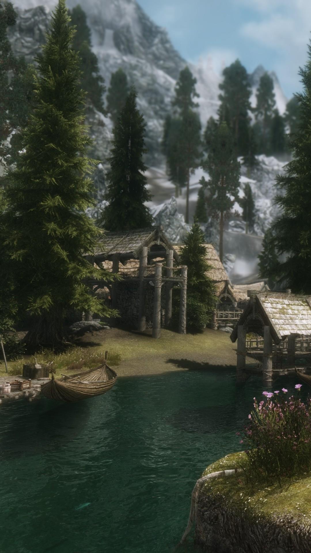 Download this Wallpaper iPhone 6 – Video Game/The Elder Scrolls V: Skyrim (