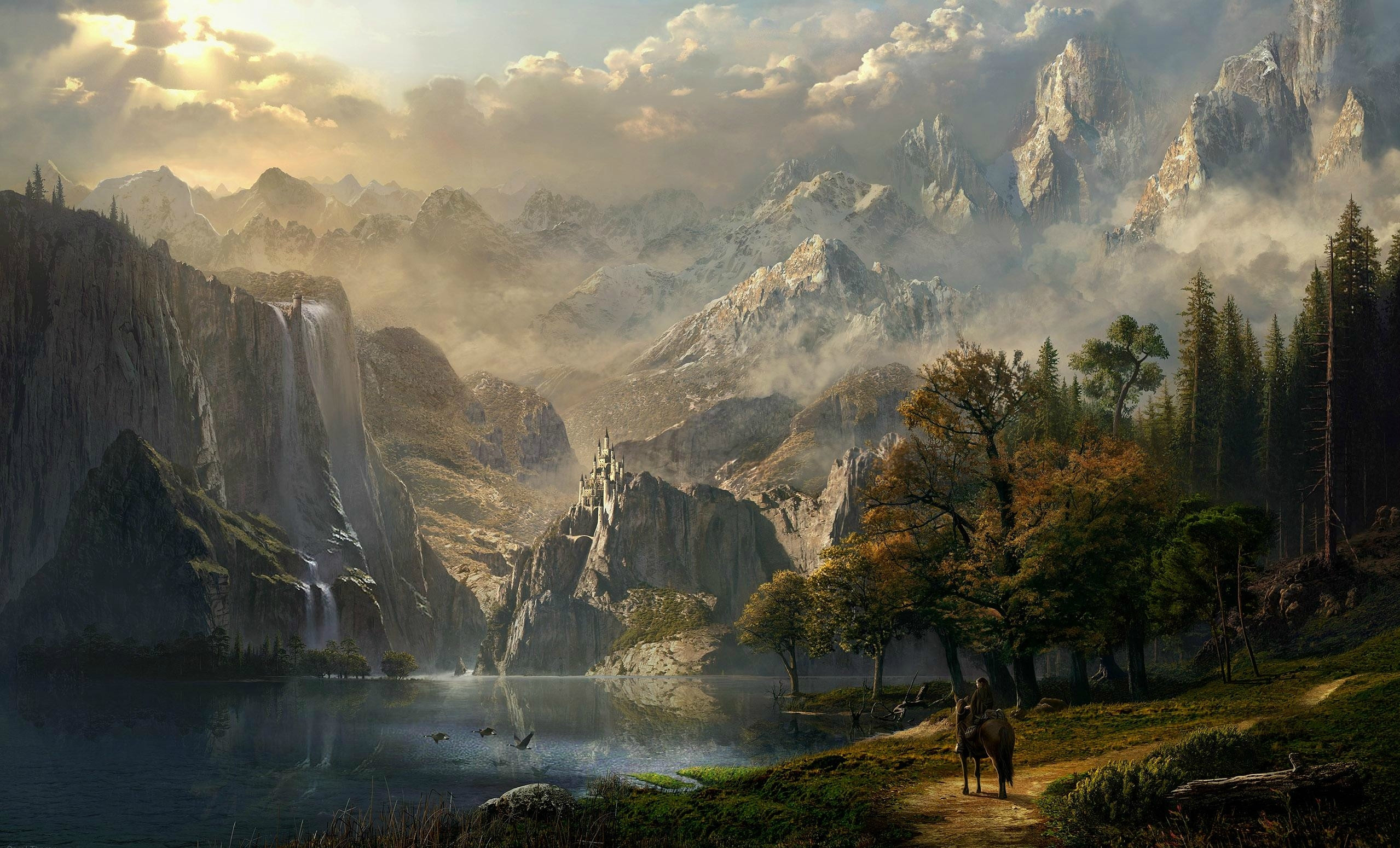 Fantasy Landscape Wallpapers High Quality Resolution with High Definition  Wallpaper px 2.39 MB Other 1920×1080